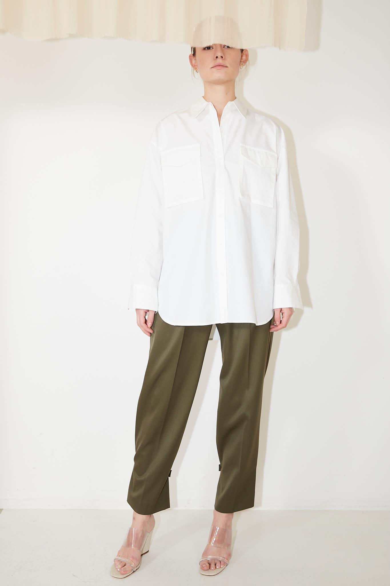 Drae - Out pocket boxy shirt
