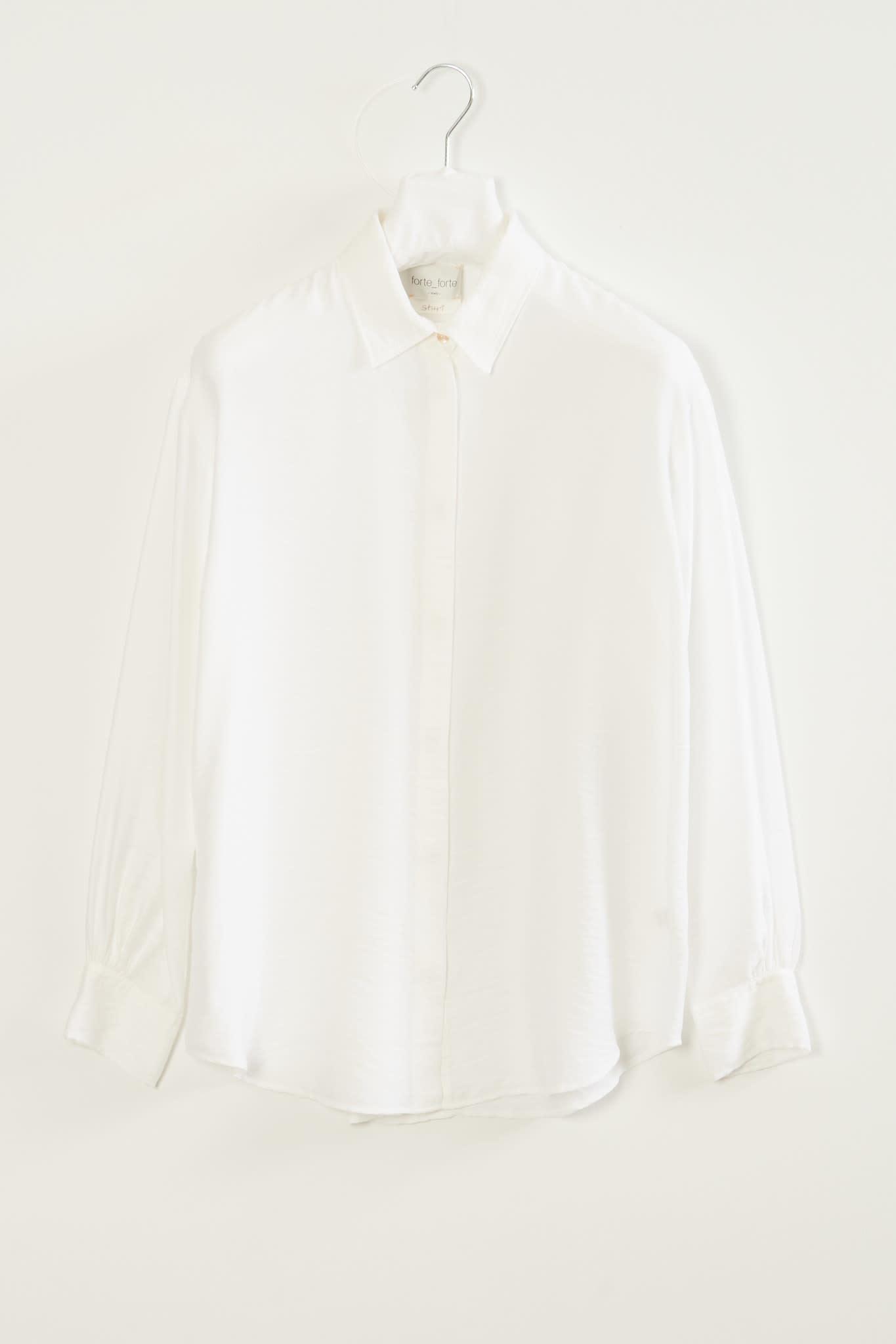 Forte Forte - Chic twill shirt