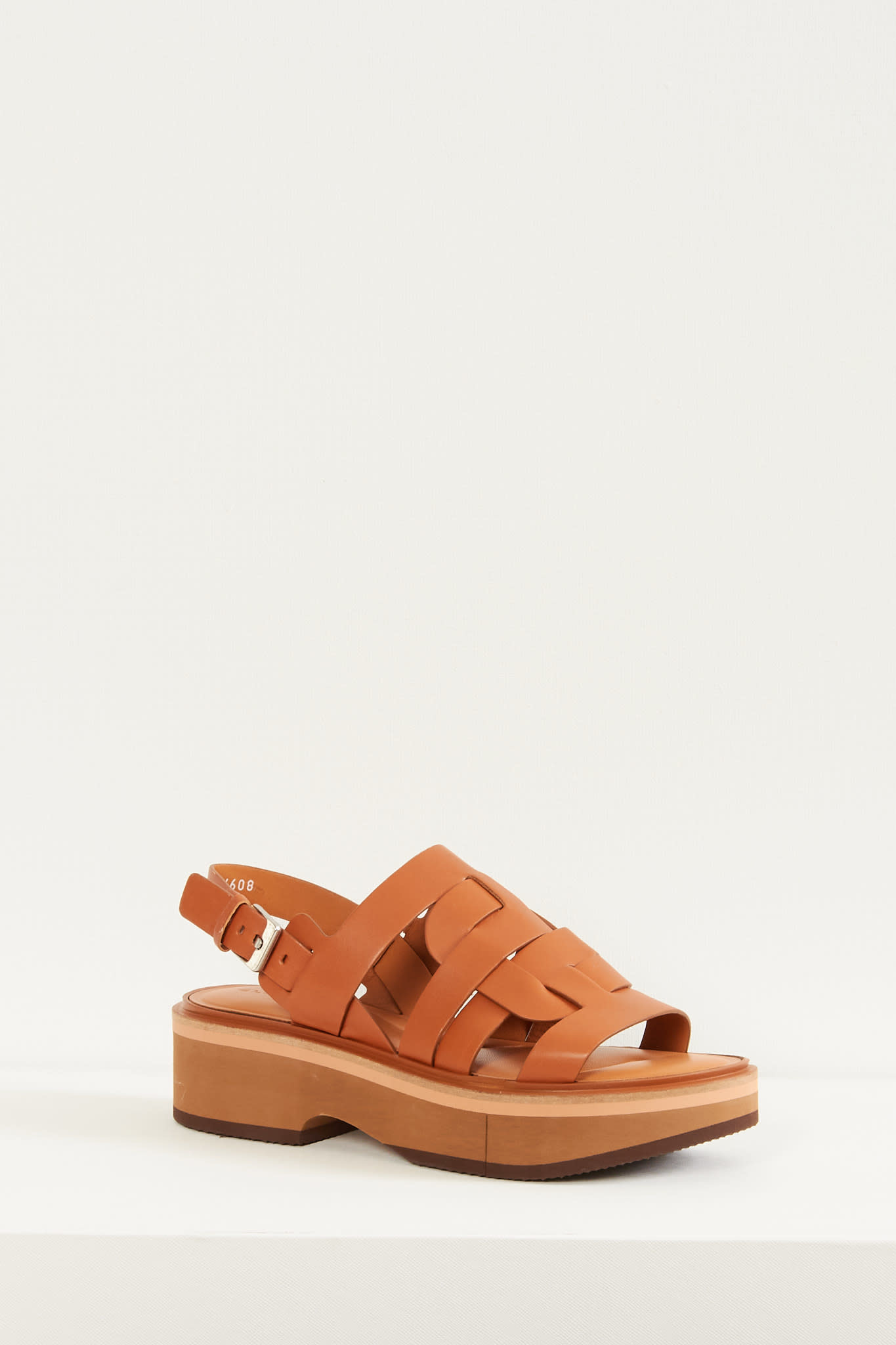 Clergerie Fidji leather sandals