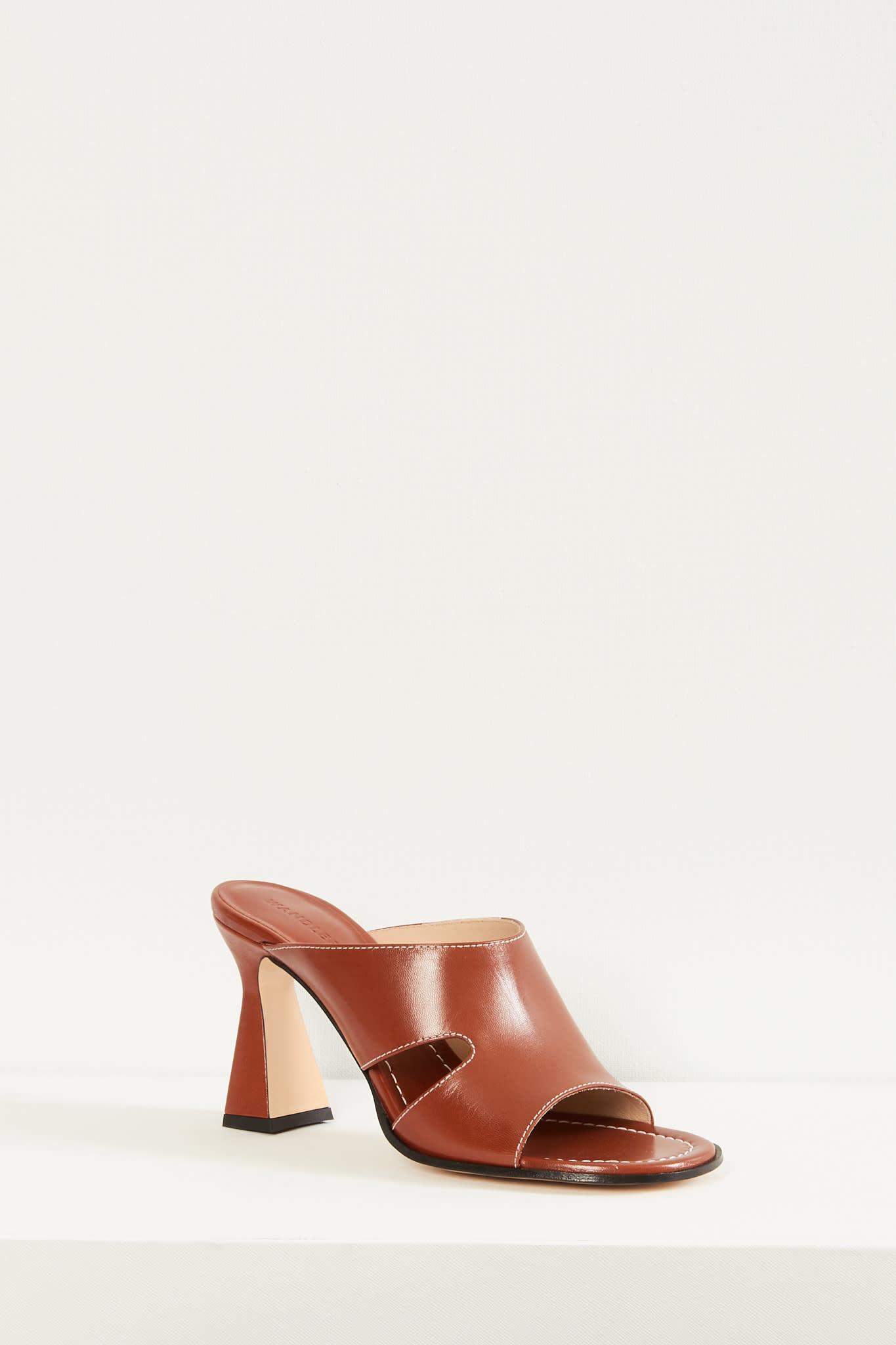 Wandler Marie sandal lambskin leather