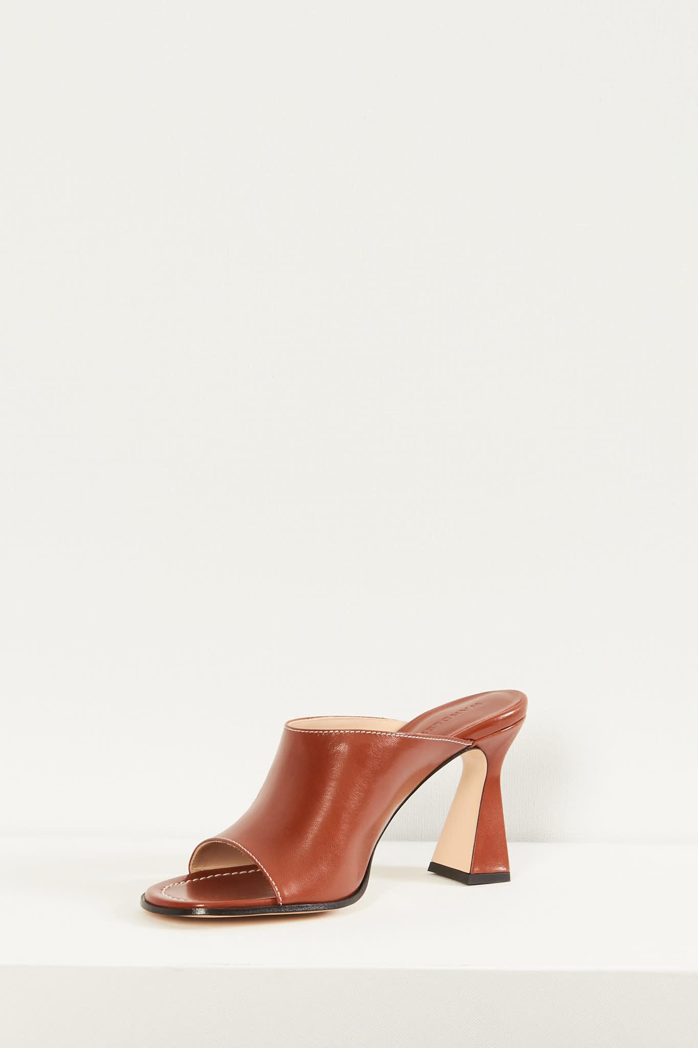 Wandler - Marie sandal lambskin leather