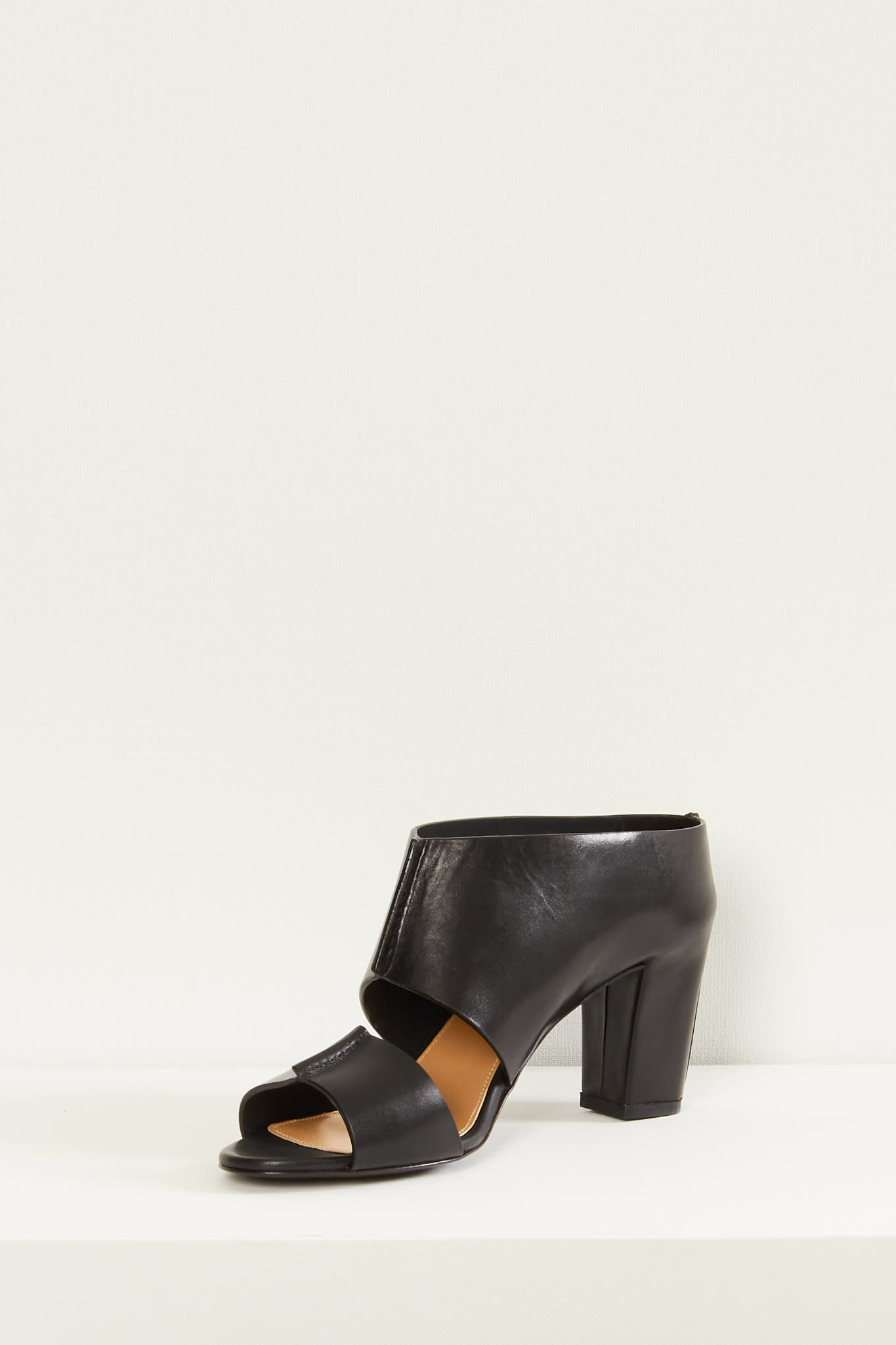 Lemaire - Mid heeled mules