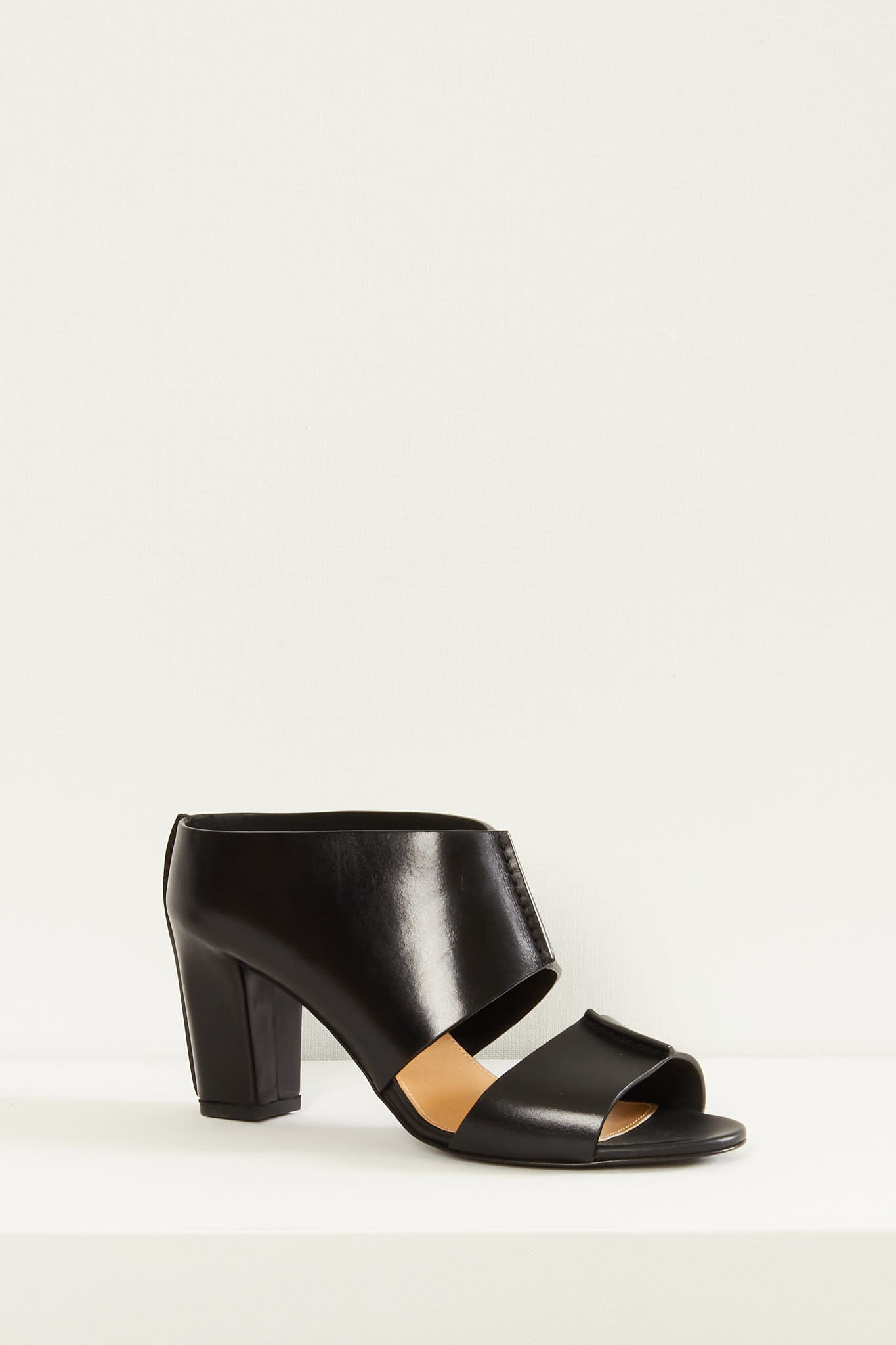 Lemaire Mid heeled mules