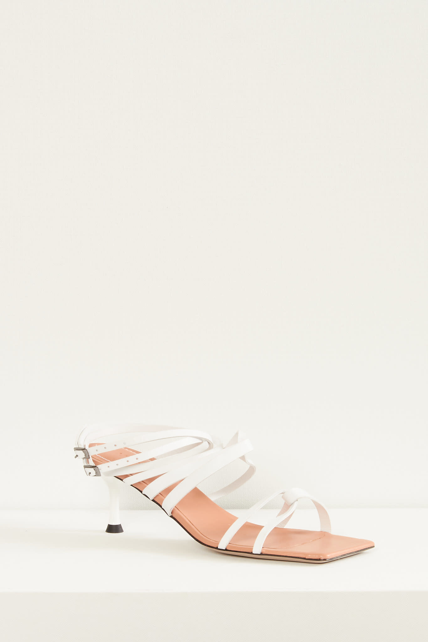 Morobé - Polly flat leather sandals