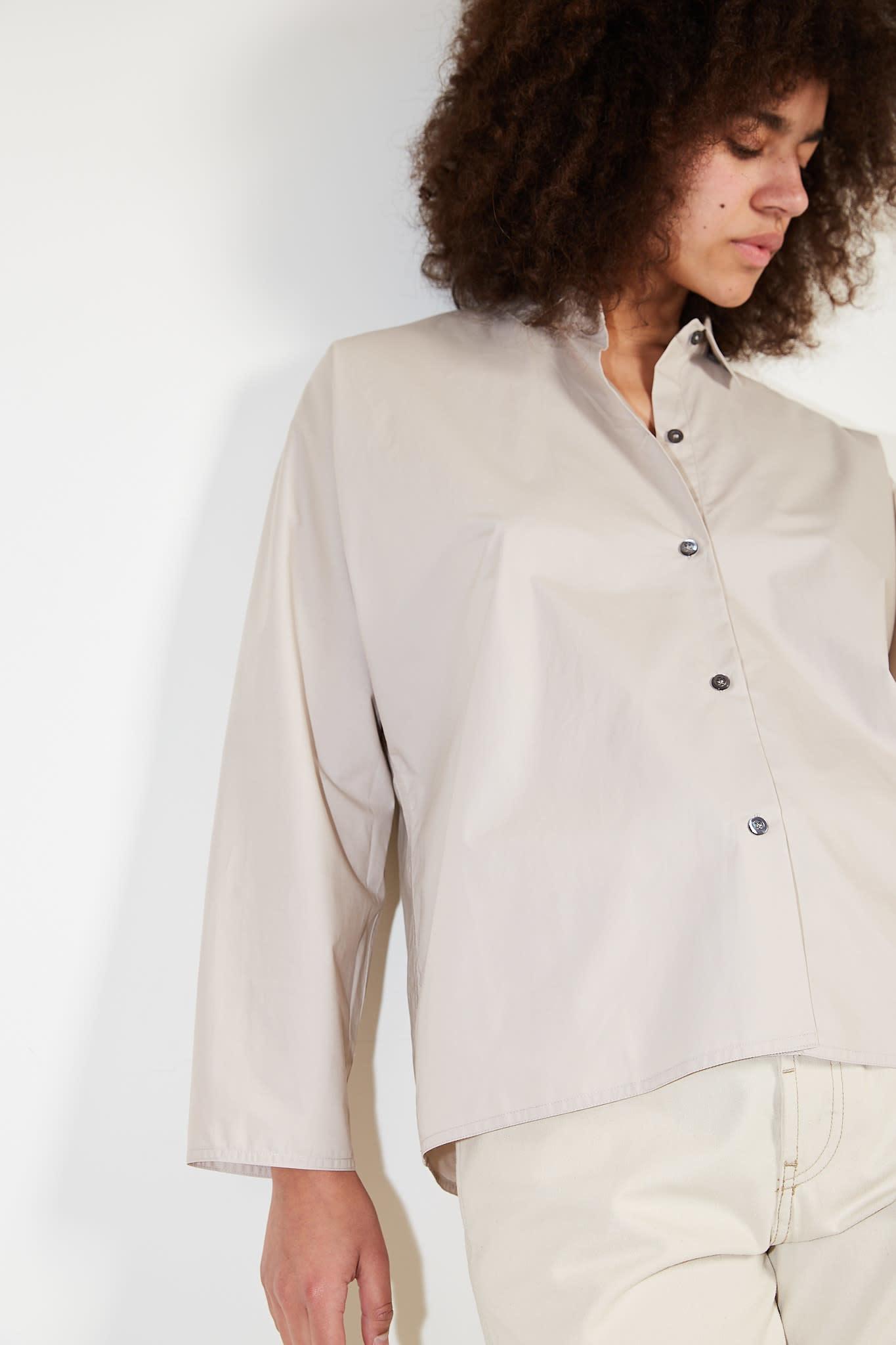 Sofie d'Hoore - Bird cotton poplin shirt