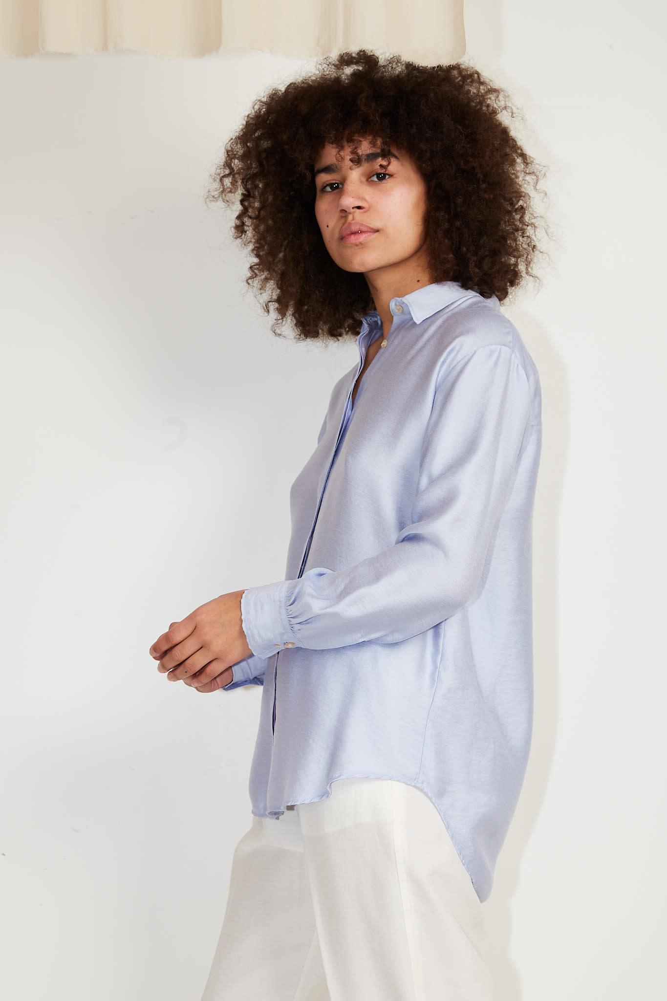 Forte Forte Chic twill shirt