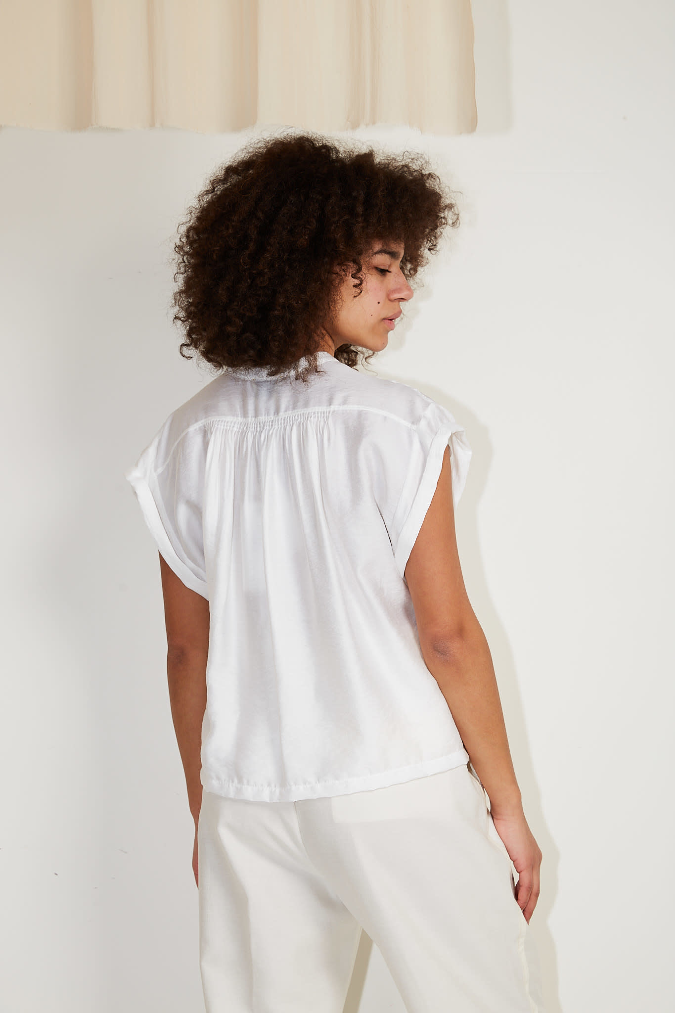 Forte Forte - Chic twill sleeveless top