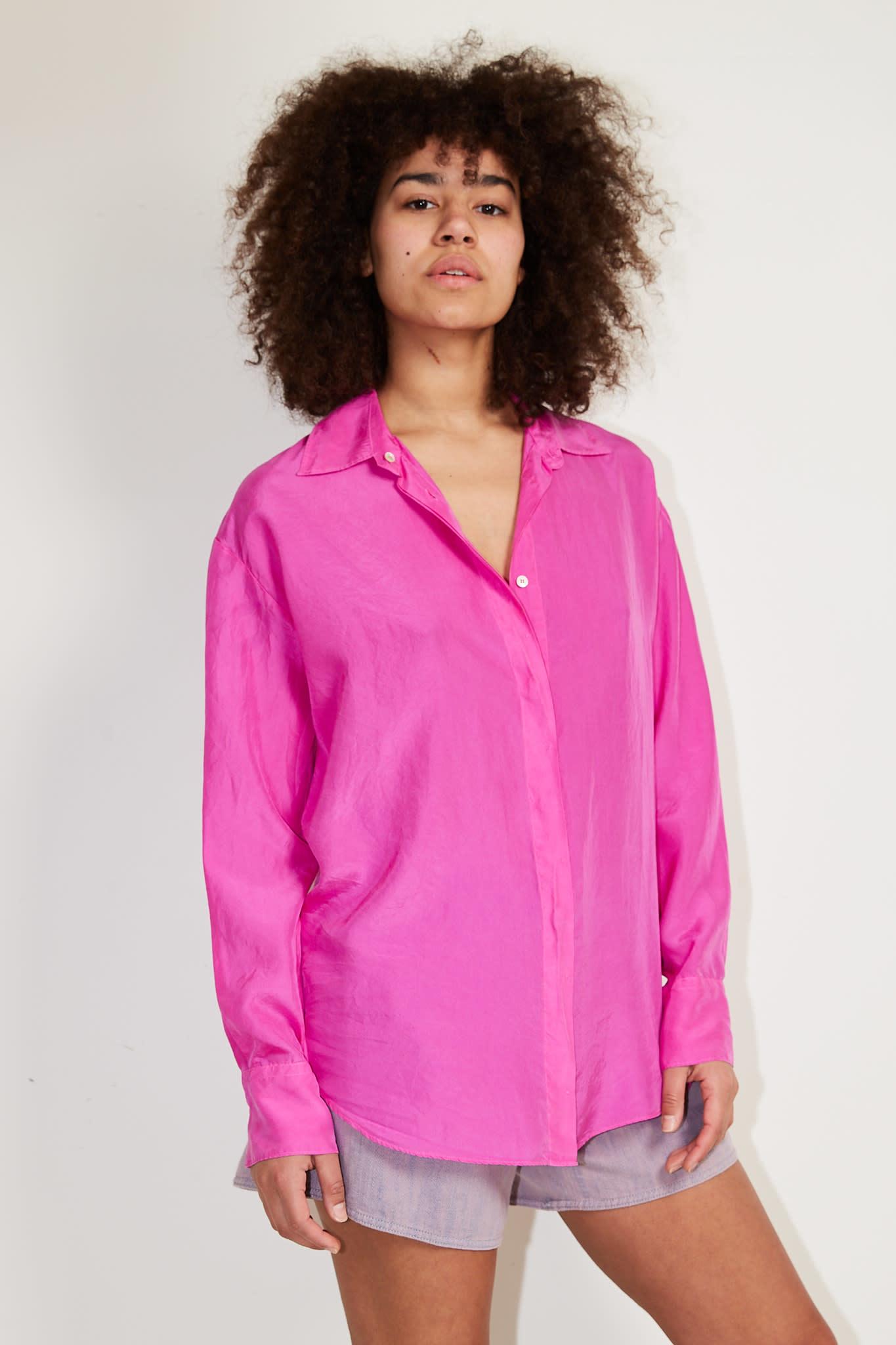 Forte Forte - Heavy habotai silk shirt
