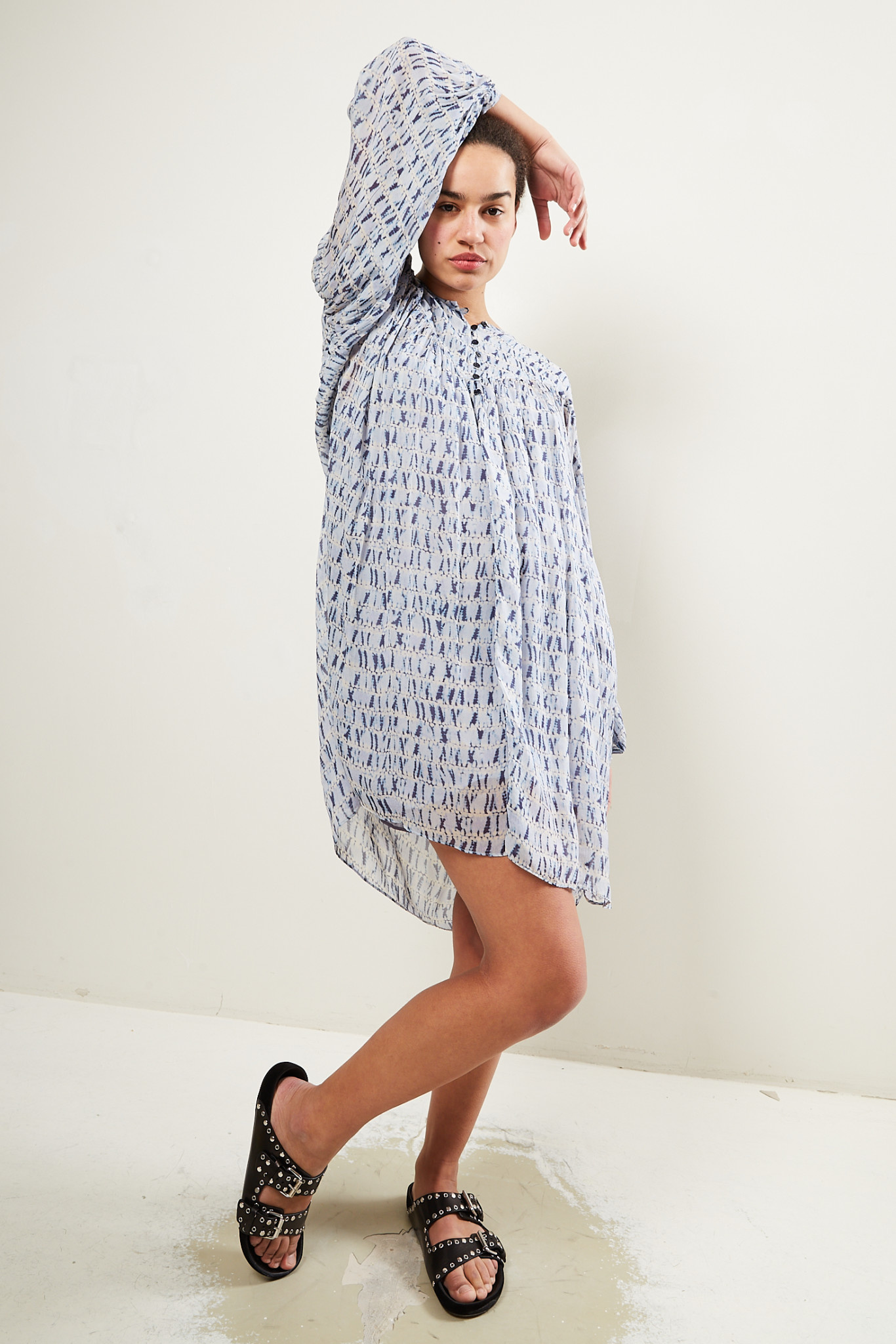 Etoile Isabel Marant - Silorion chiffon viscose dress