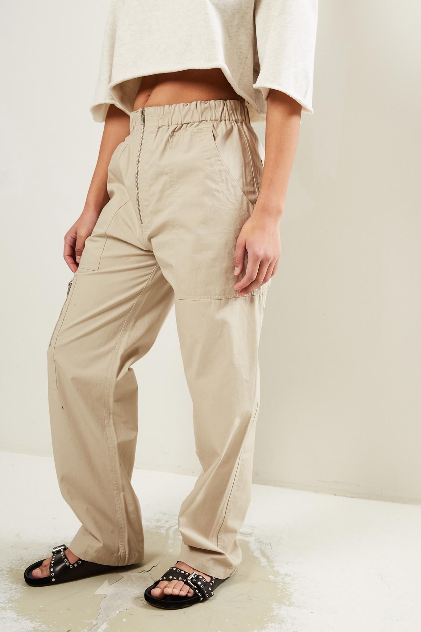 Etoile Isabel Marant Noferis cotton trousers