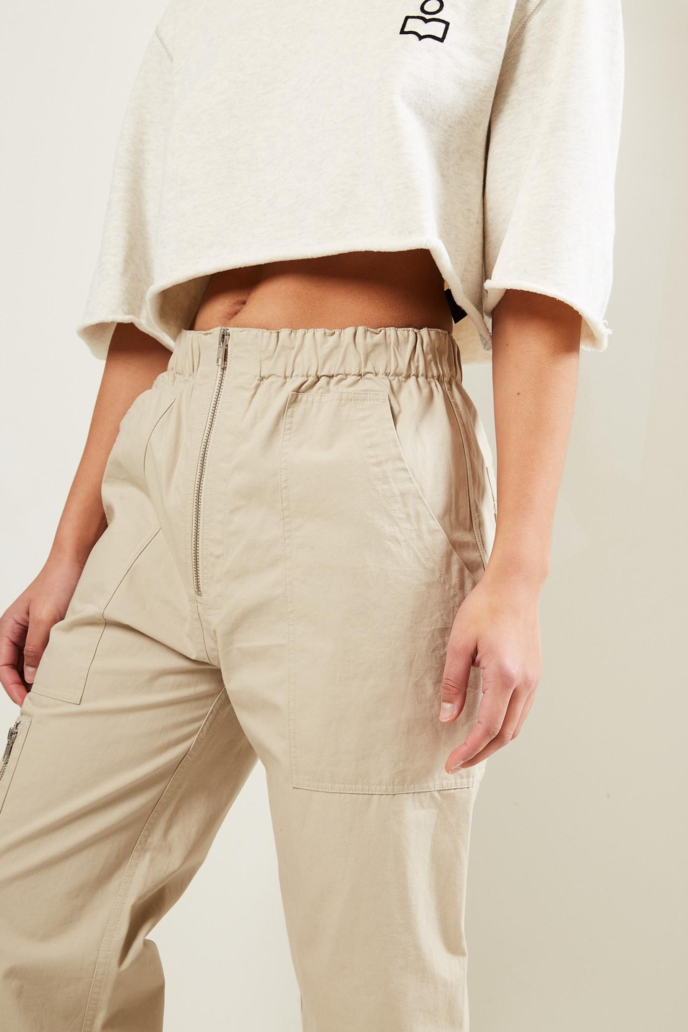 Etoile Isabel Marant - Noferis cotton trousers