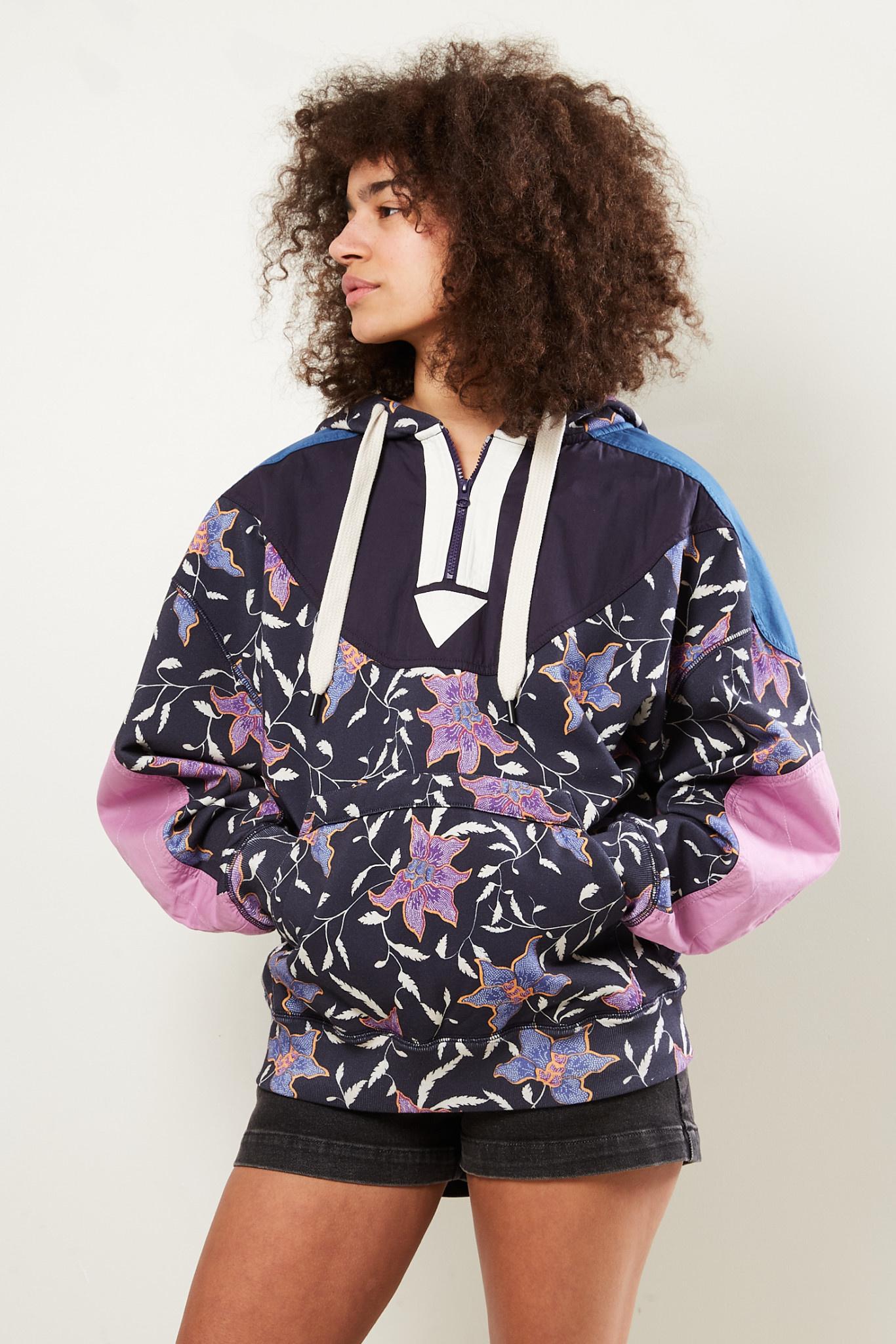 Etoile Isabel Marant Nanselia floral printed sweatshirt