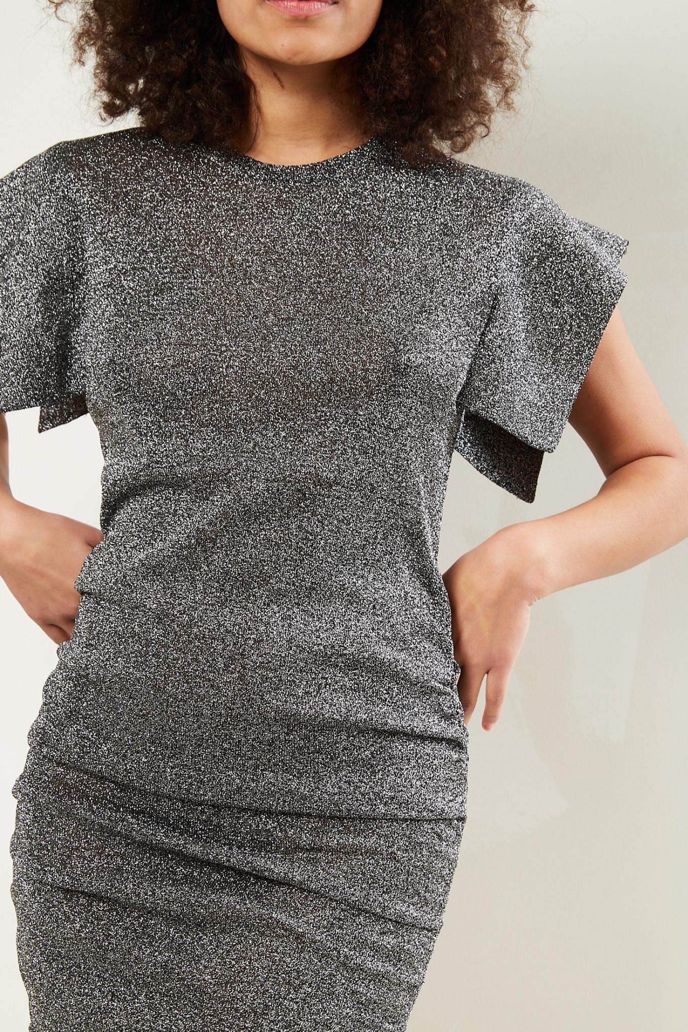 Isabel Marant - Marthe fluid lurex dress