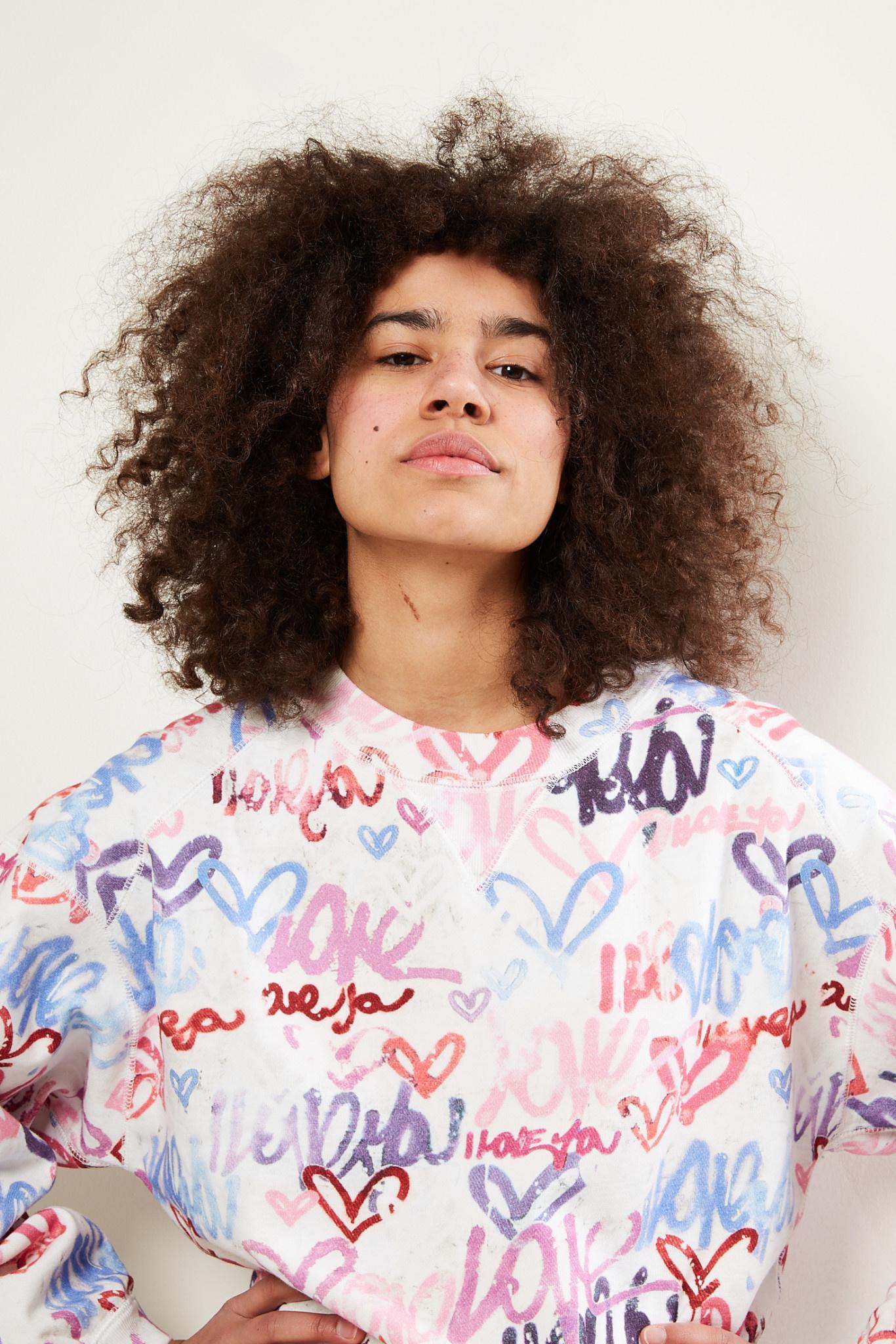 Isabel Marant - Margo graffiti sweat shirt