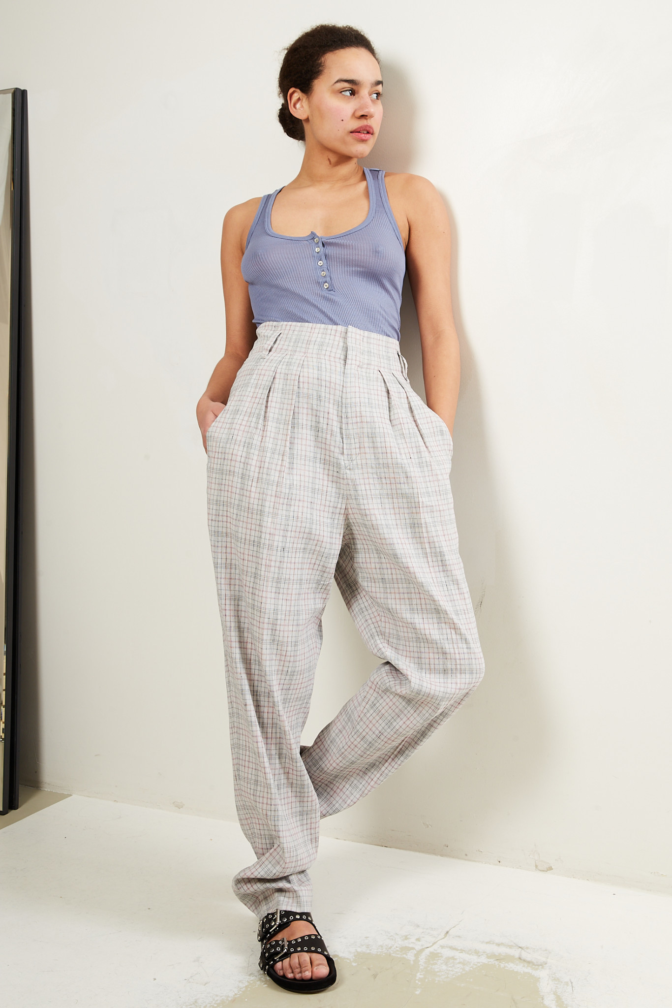Etoile Isabel Marant Magali costard trousers