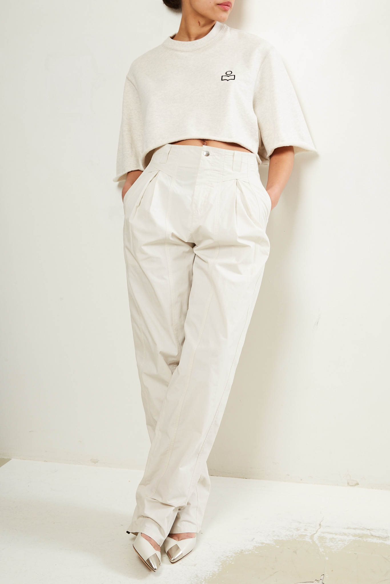 Isabel Marant Kilandy timeless poplin trousers