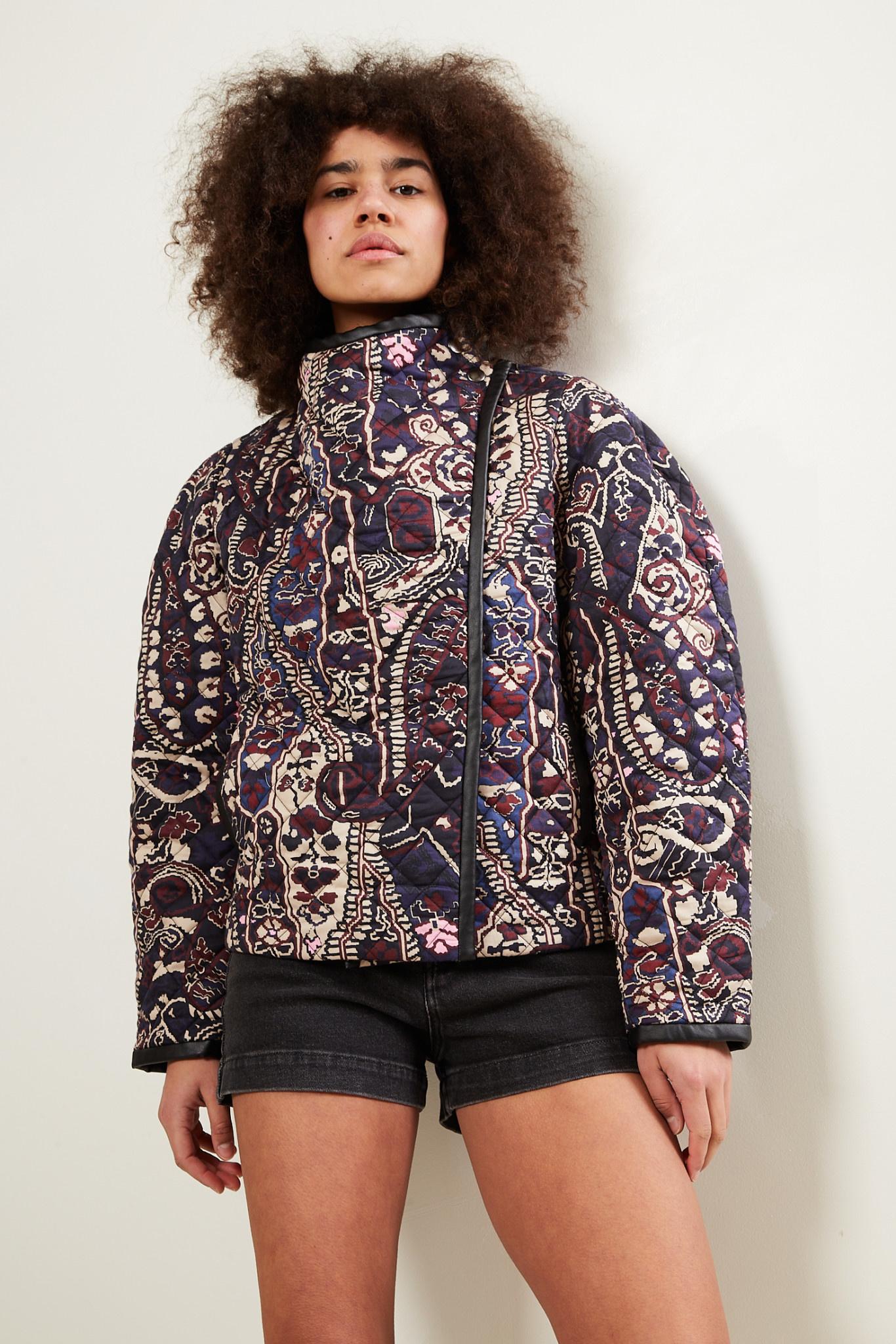 Isabel Marant Jenolia printed satin jacket