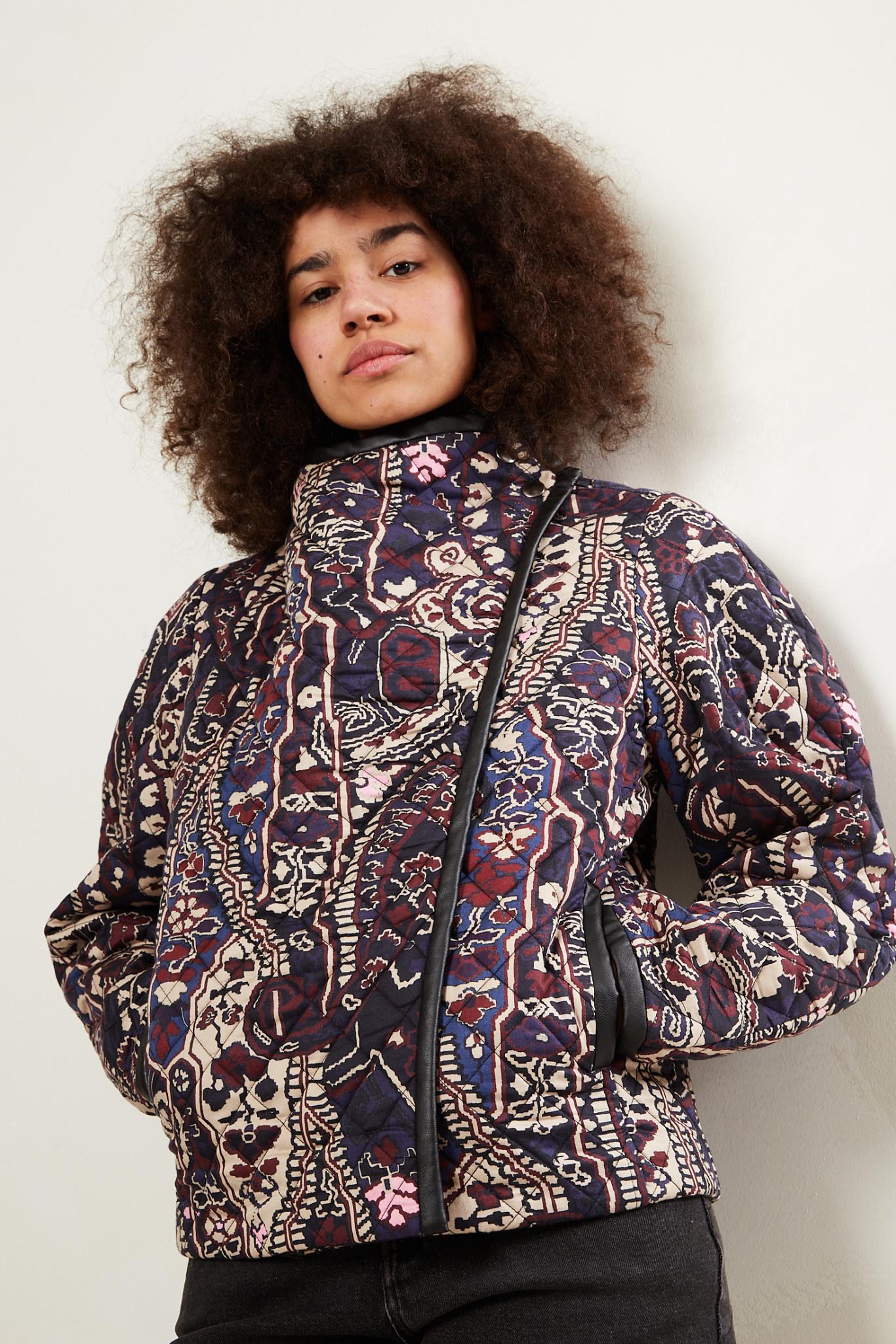 Isabel Marant - Jenolia printed satin jacket