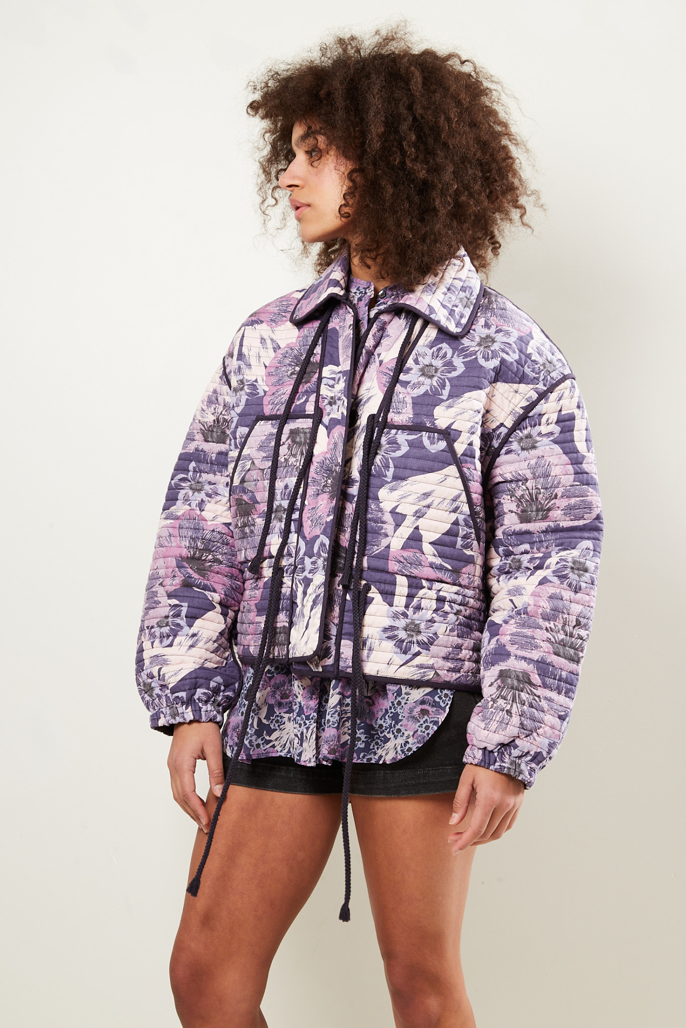 Etoile Isabel Marant - Haines printed jacket
