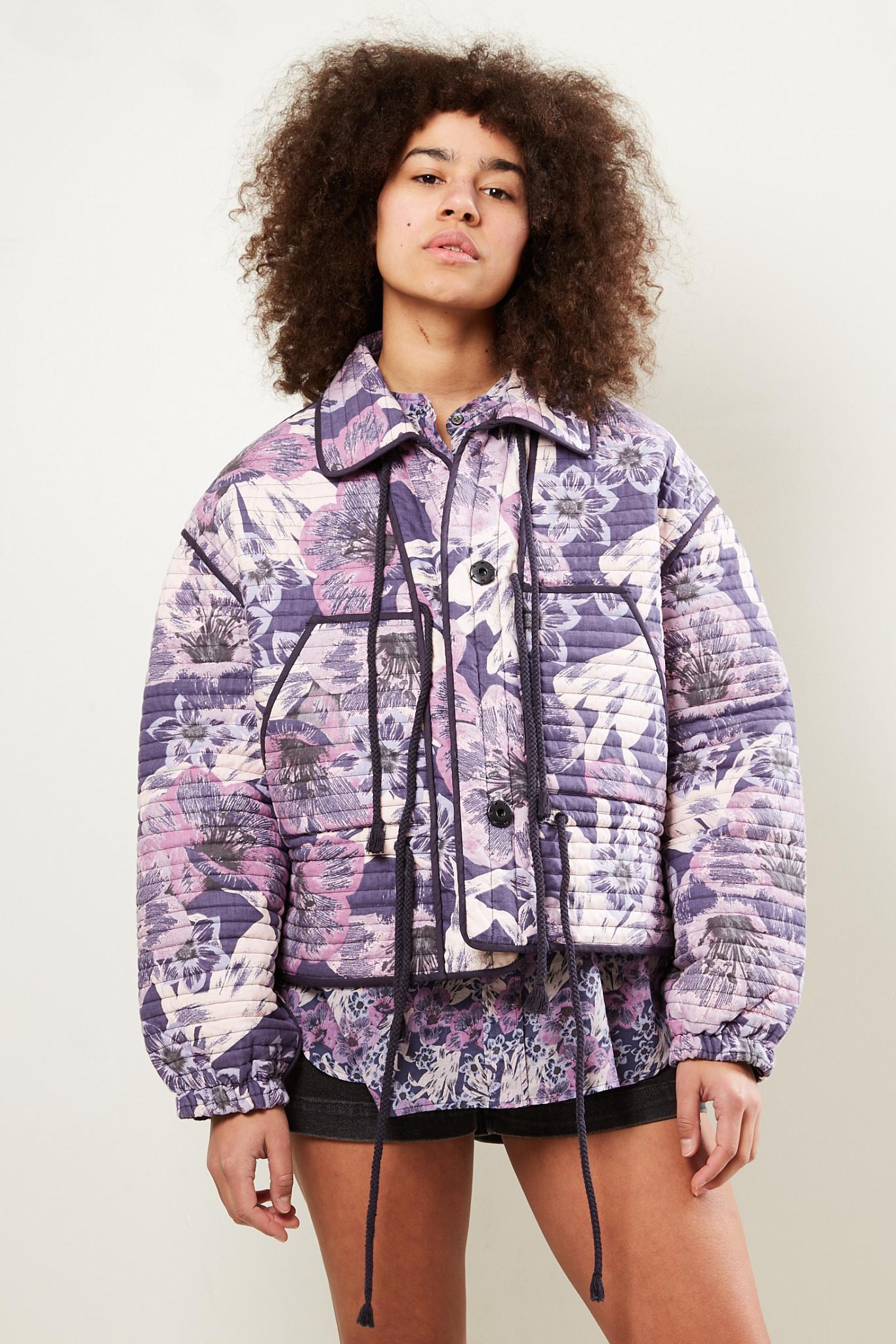 Etoile Isabel Marant Haines printed jacket