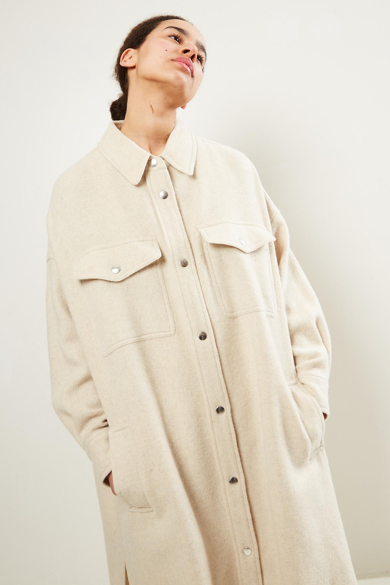 Etoile Isabel Marant - Fontia overboiled wool coat