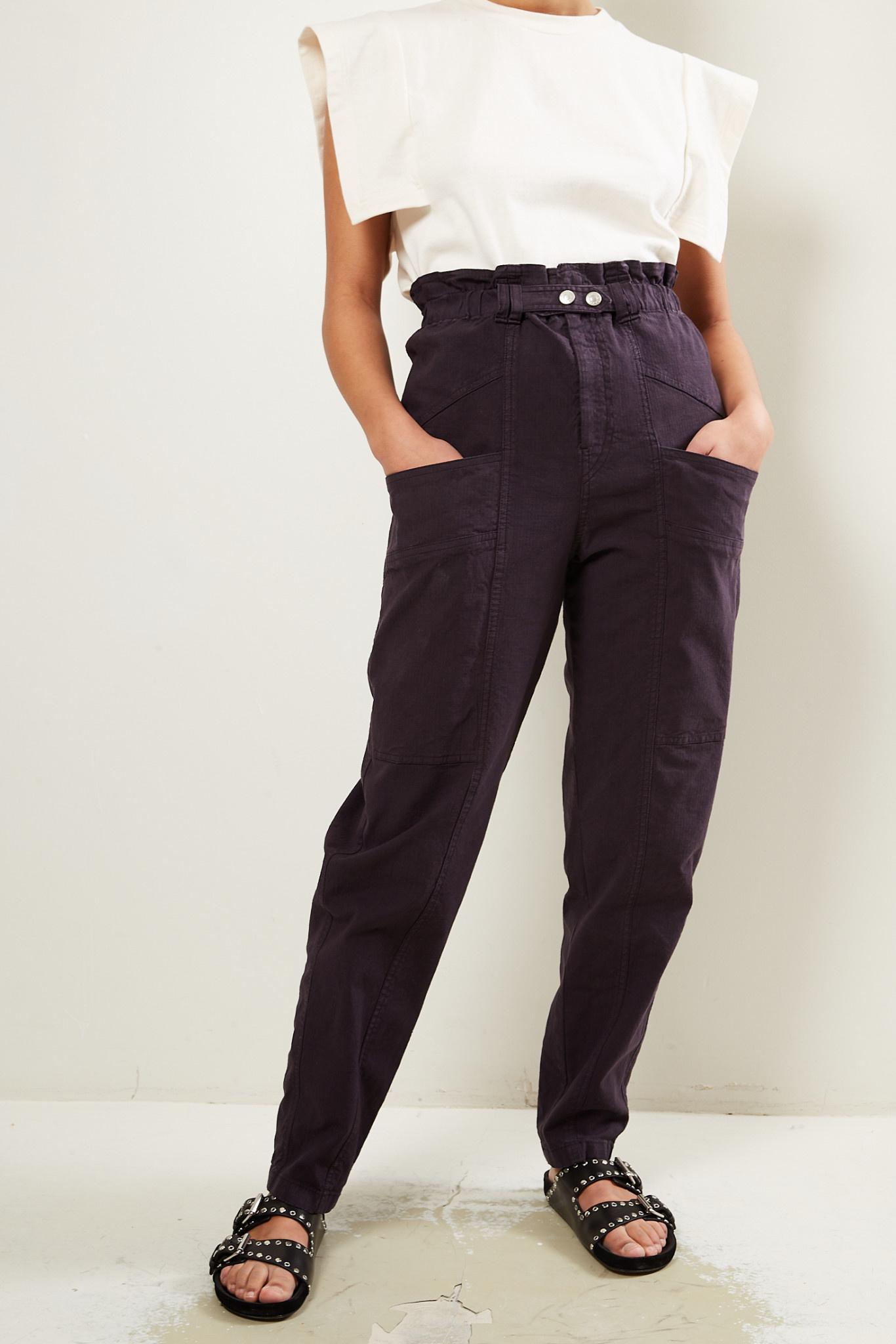 Isabel Marant Enucie ripstop pants