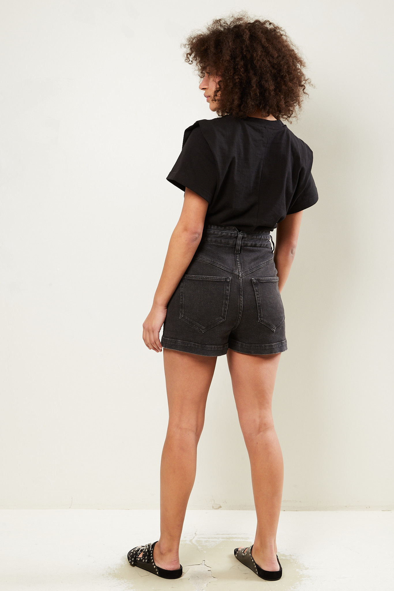 Isabel Marant - Diroysr stretch denim shorts