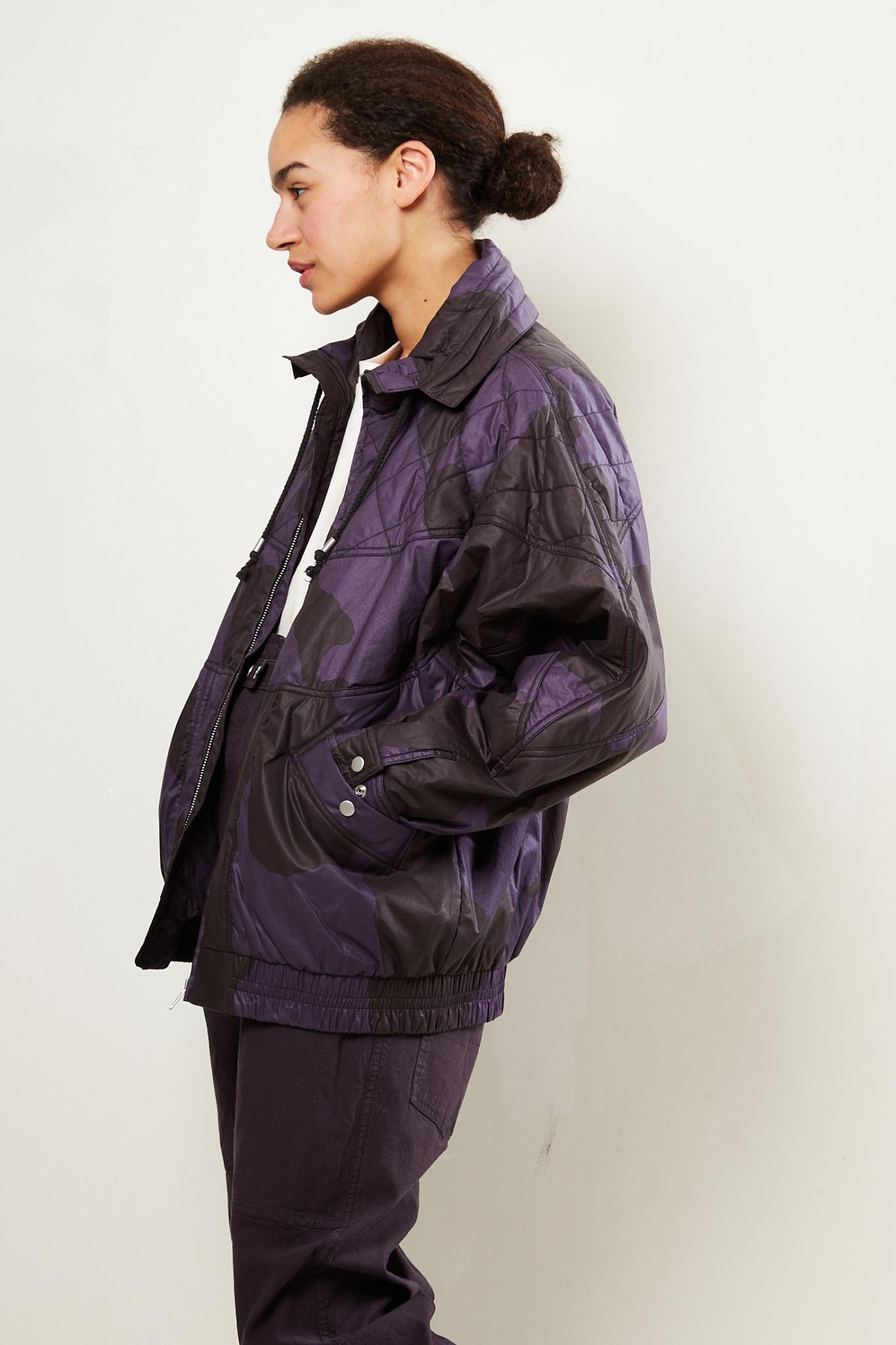 Etoile Isabel Marant - Diaomia printed trench jacket