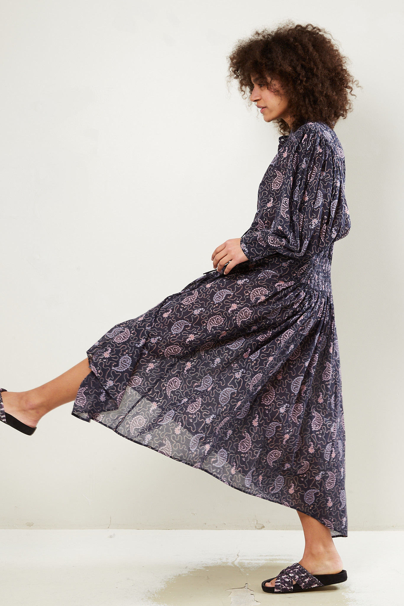 Etoile Isabel Marant - Ariana printed cotton dress