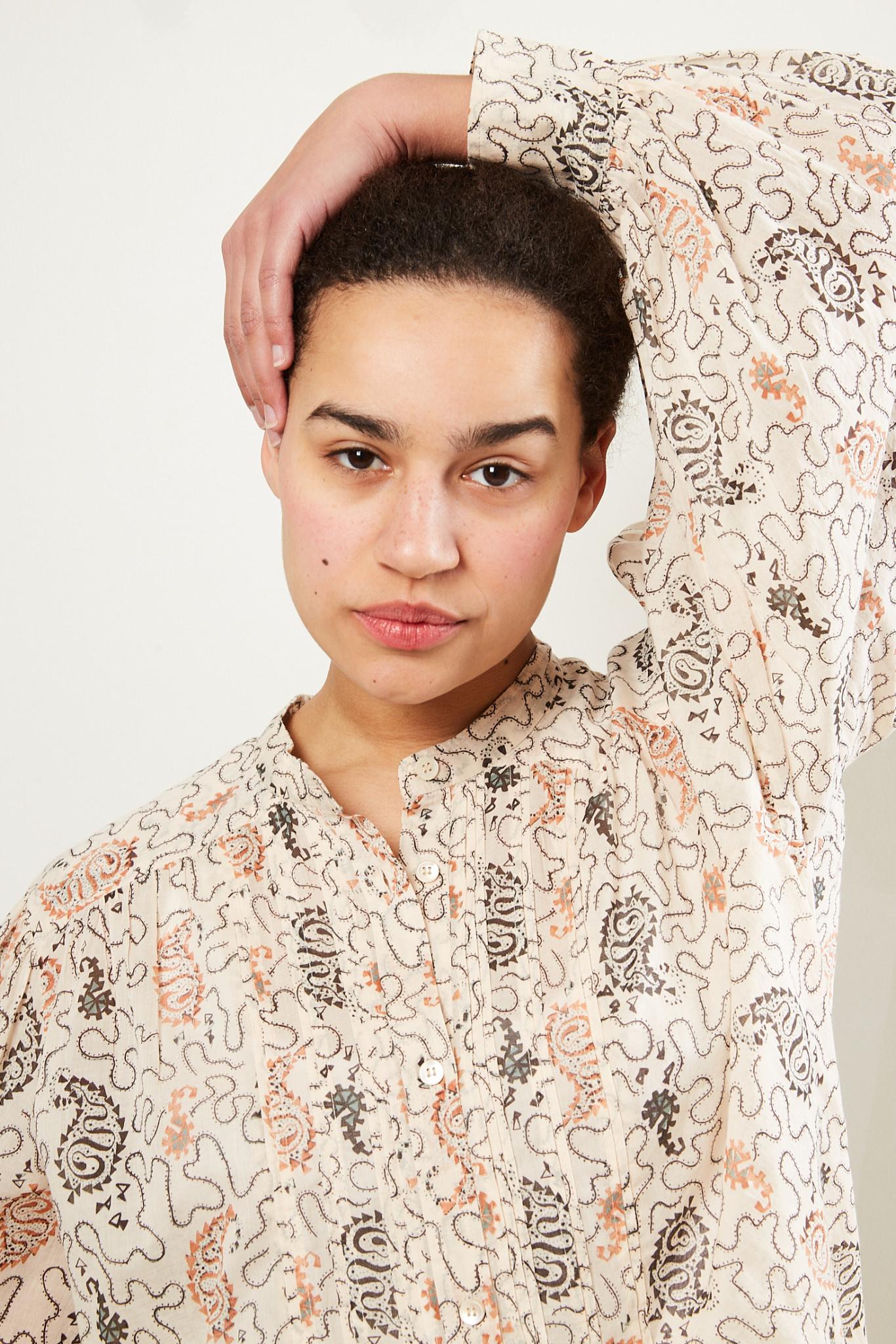 Etoile Isabel Marant - Adigra printed cotton top