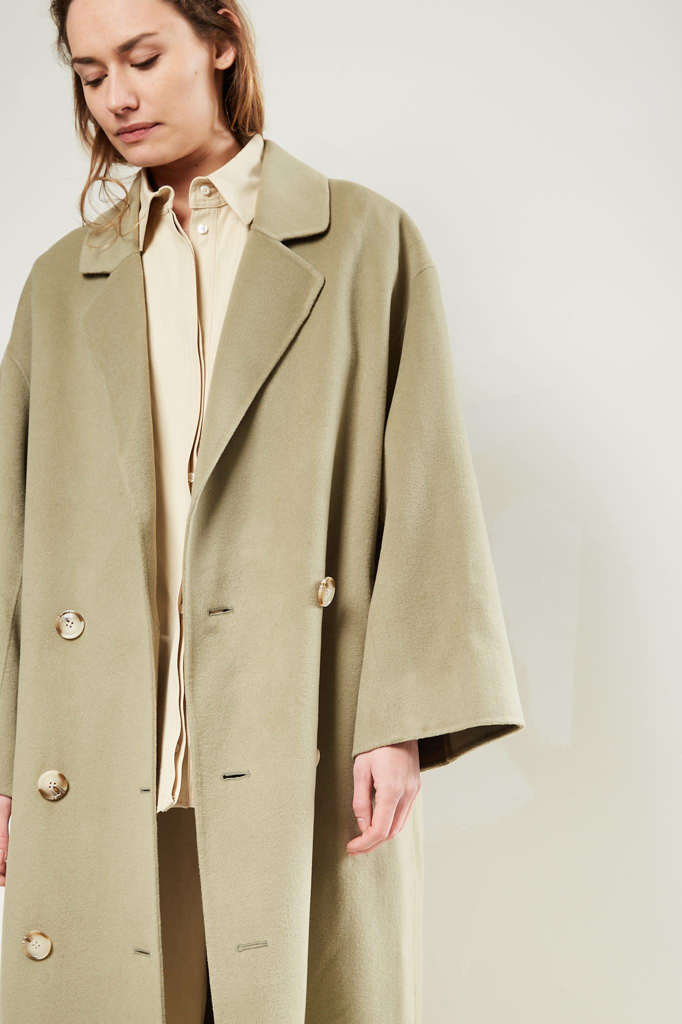 loulou studio Borneo wool cashmere coat