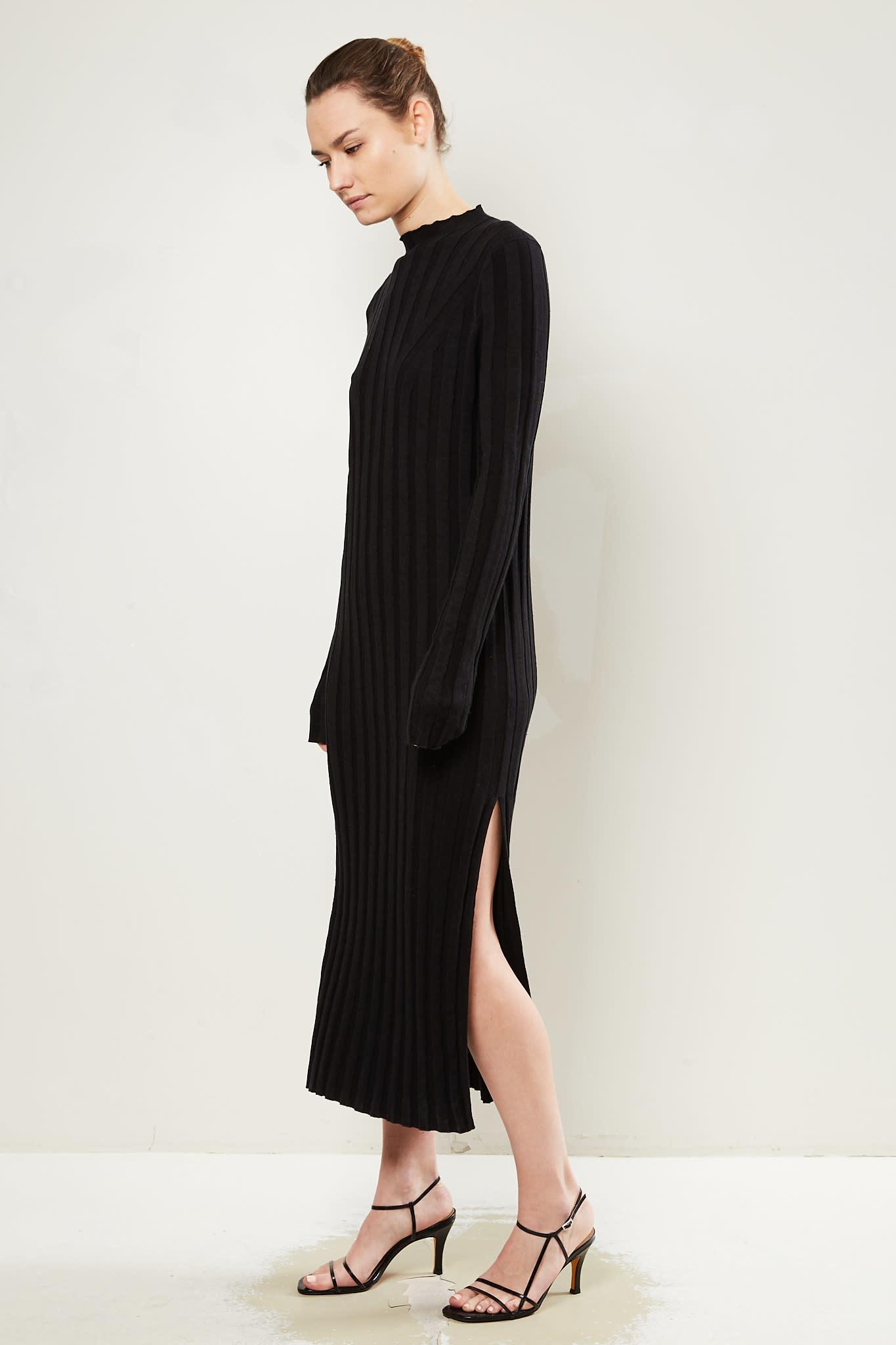 loulou studio Gaya linen silk dress