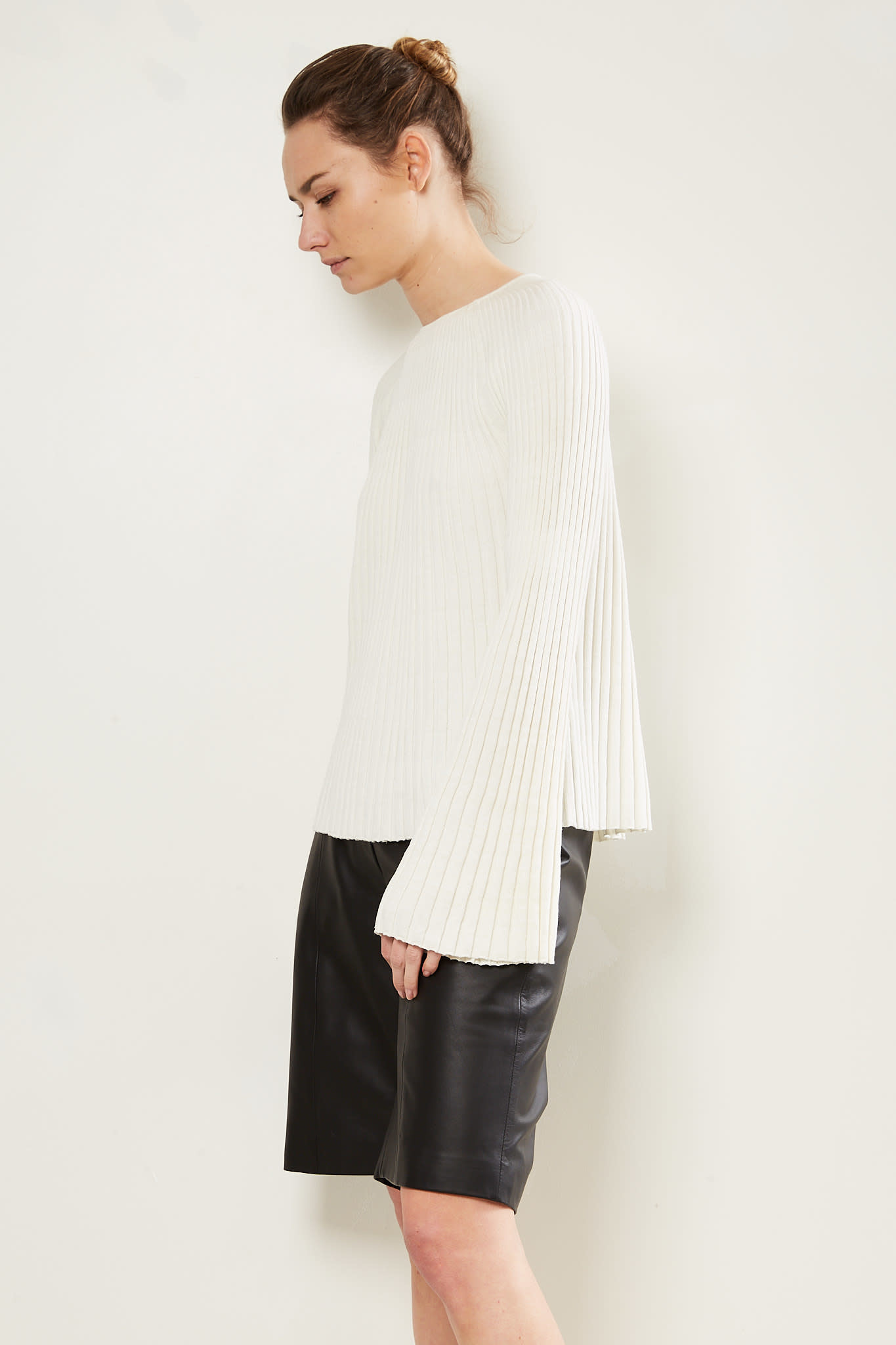 loulou studio - Hairan knitted top