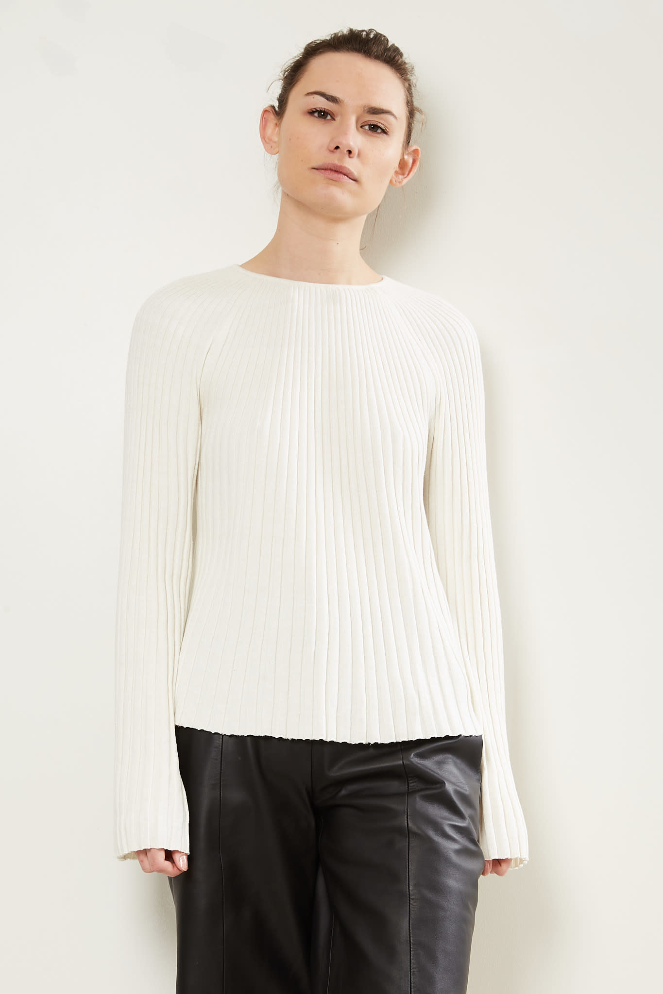 loulou studio Hairan knitted top
