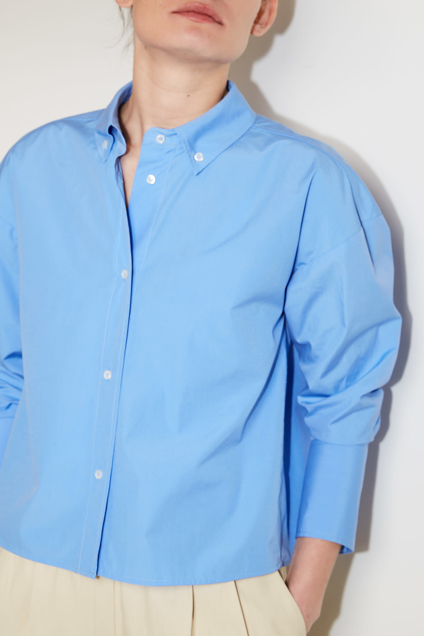 loulou studio - Pulau cotton shirt