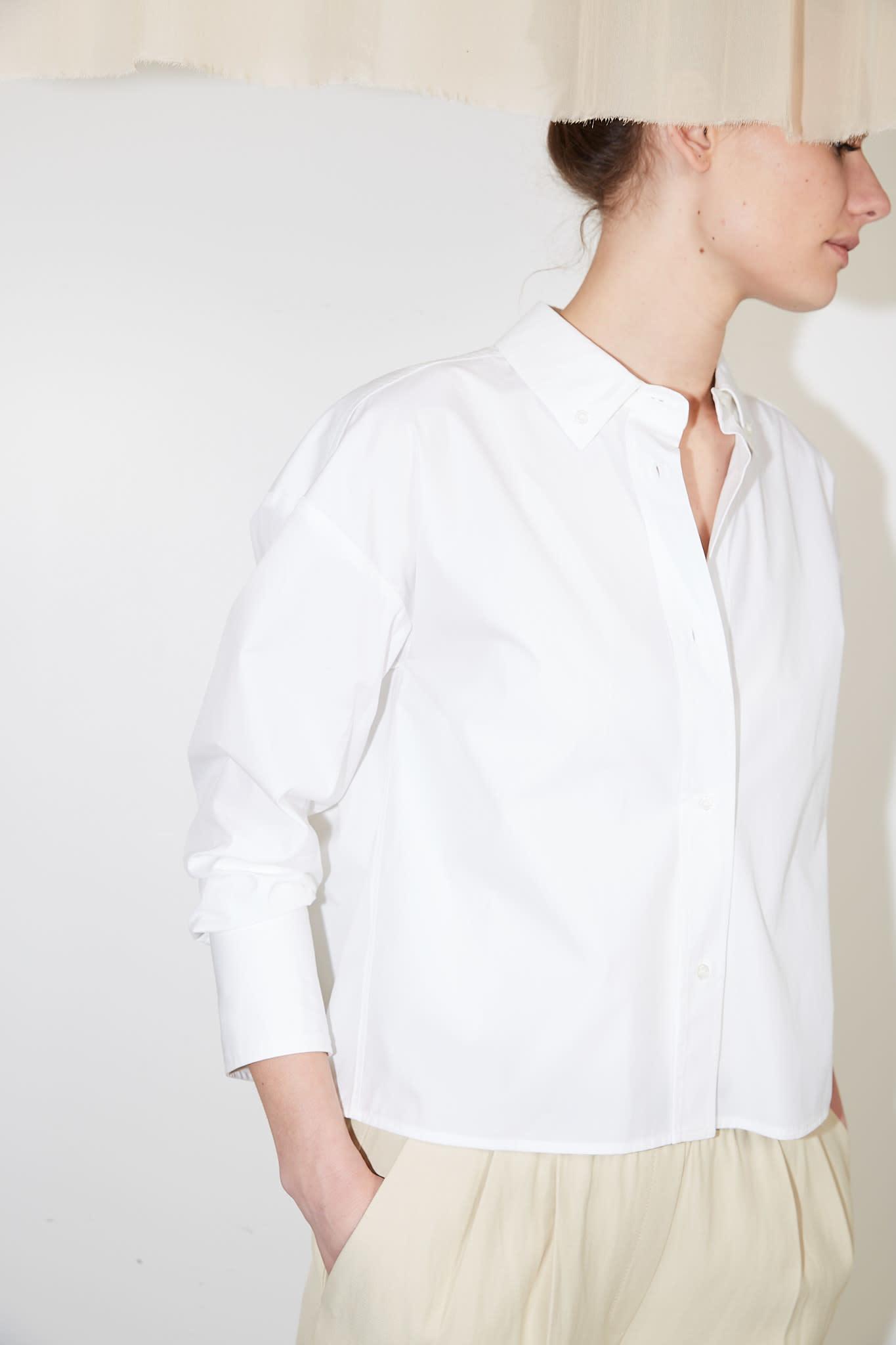 loulou studio Pulau cotton shirt