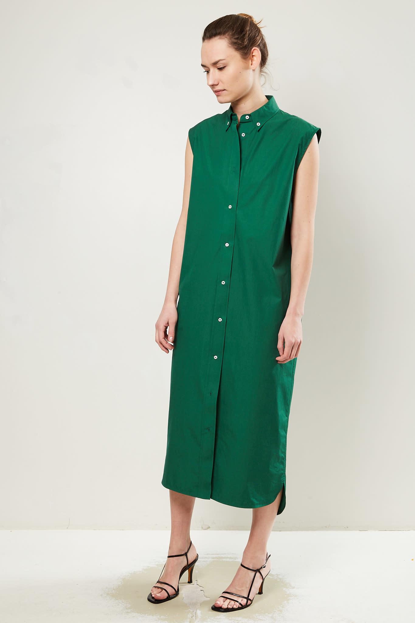 loulou studio - Ukara cotton dress