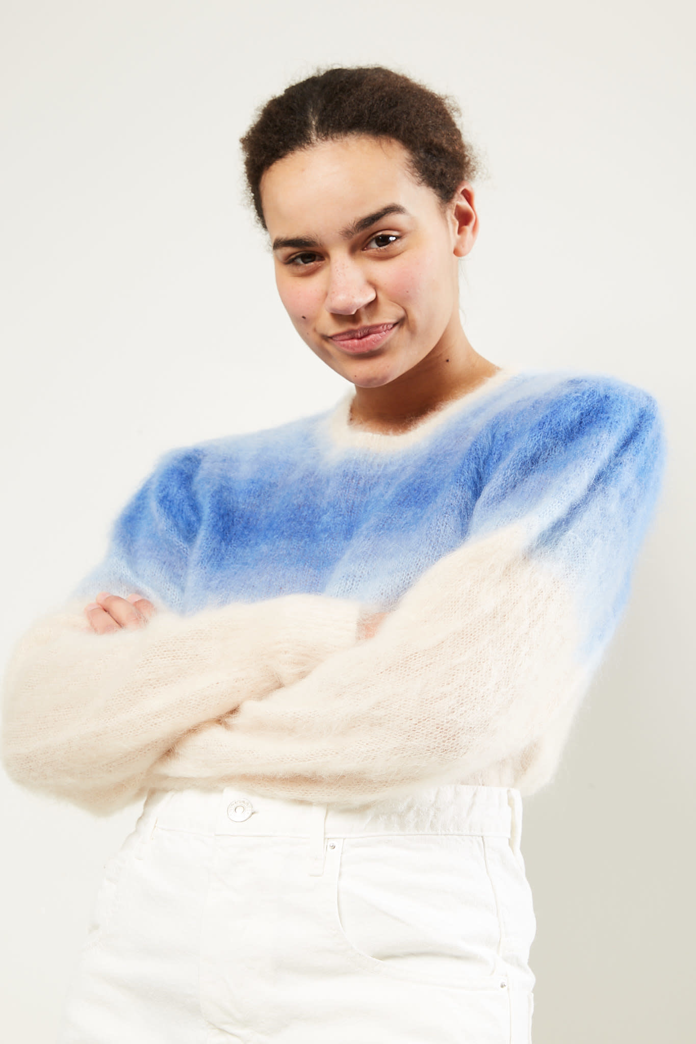 Etoile Isabel Marant - Deniz gradient brushed sweater