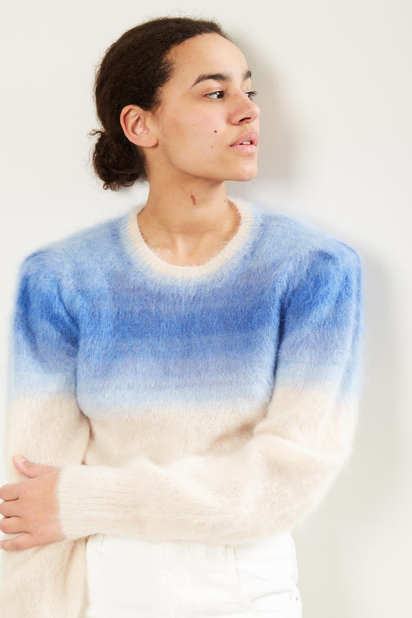 Etoile Isabel Marant Deniz gradient brushed sweater