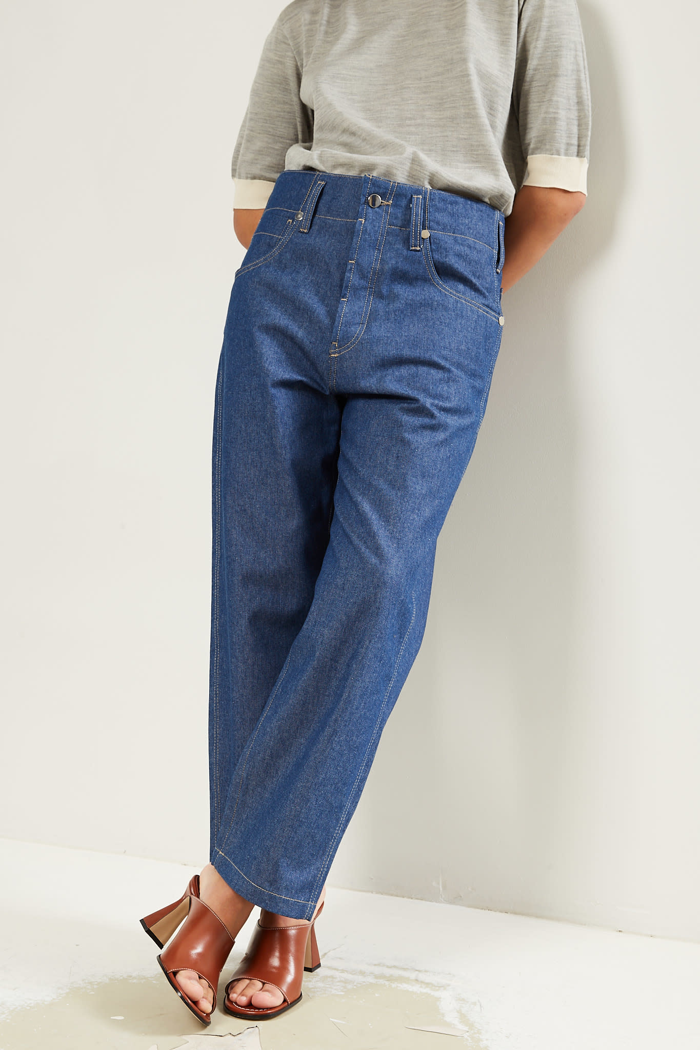 Sofie d'Hoore Pollock light denim pants