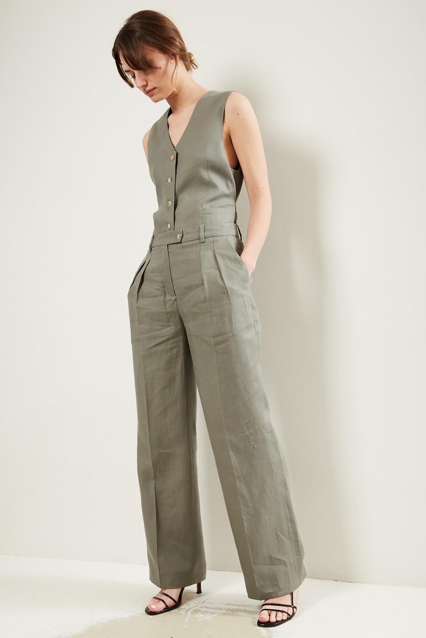 loulou studio Bidong linen pants