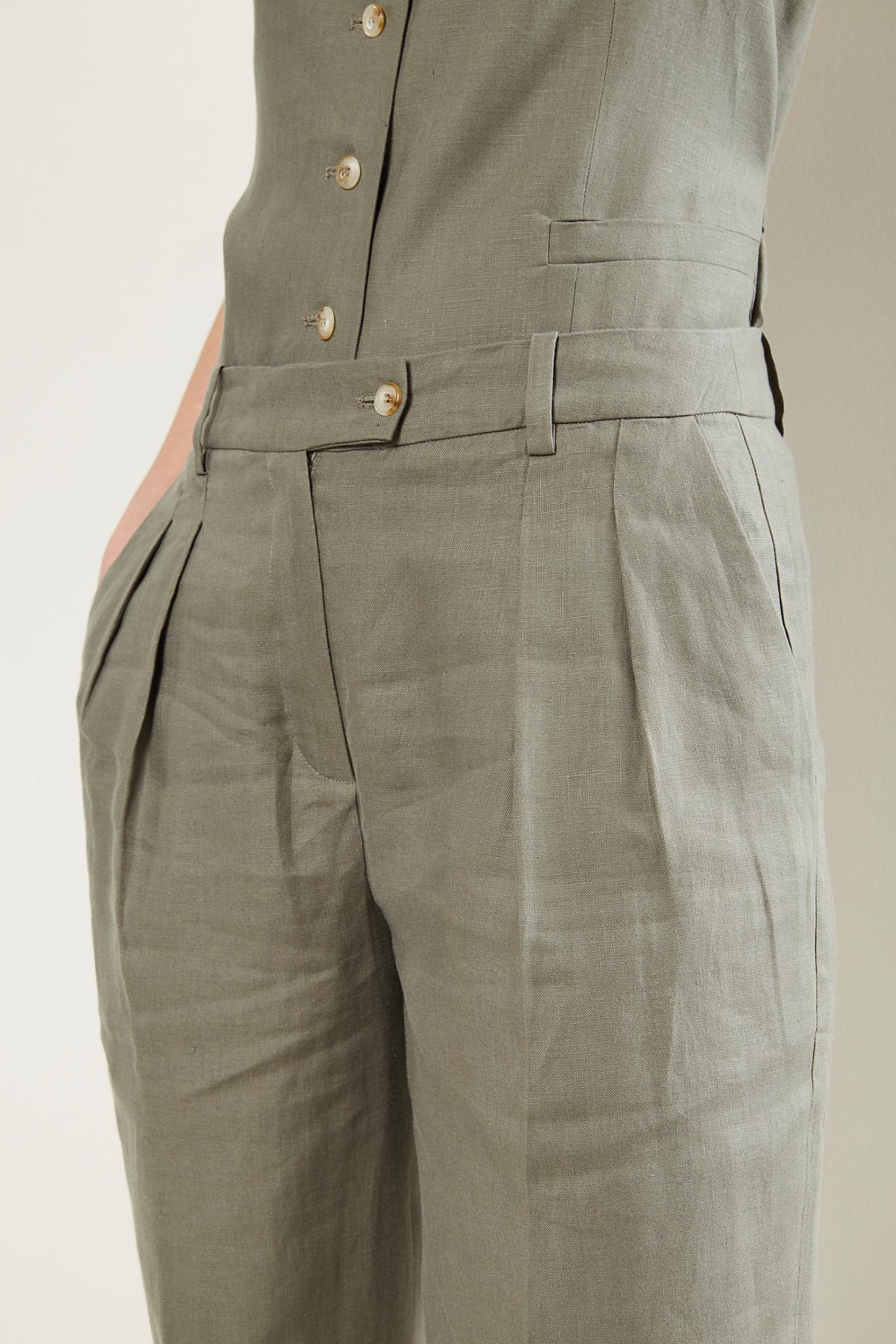 loulou studio - Bidong linen pants