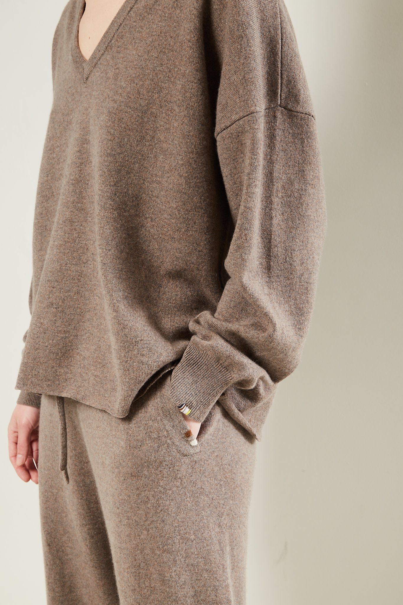 extreme cashmere - No161 Clac cropped sweater