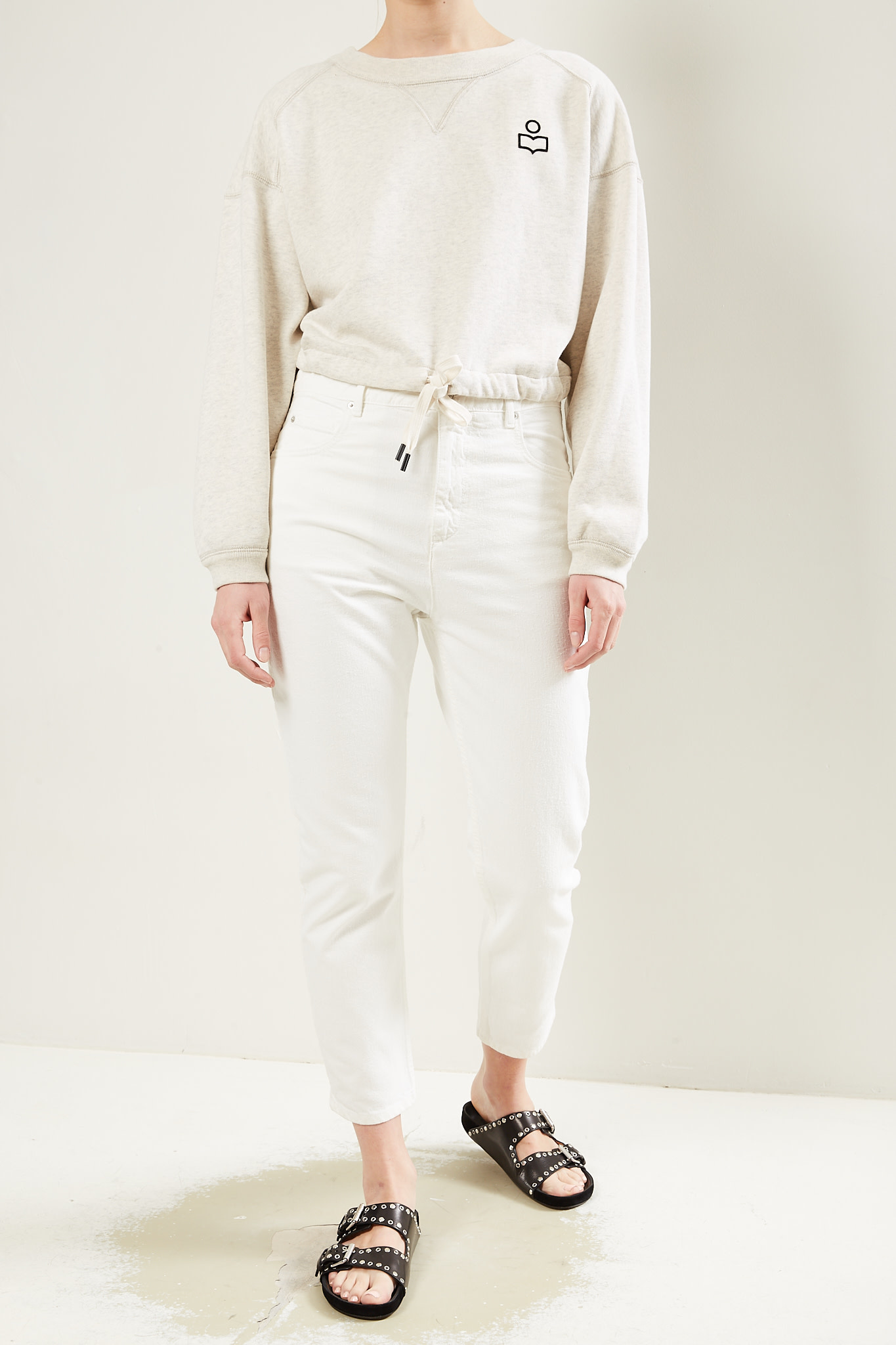 Etoile Isabel Marant Lanea colored jeans trousers