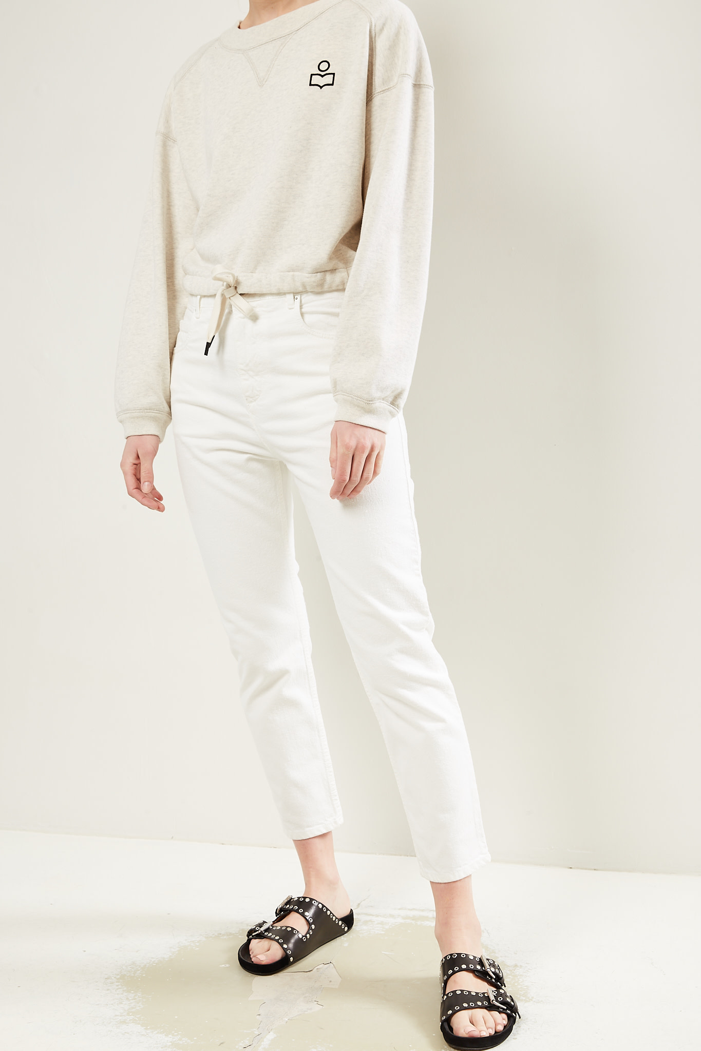 Etoile Isabel Marant - Lanea colored jeans trousers
