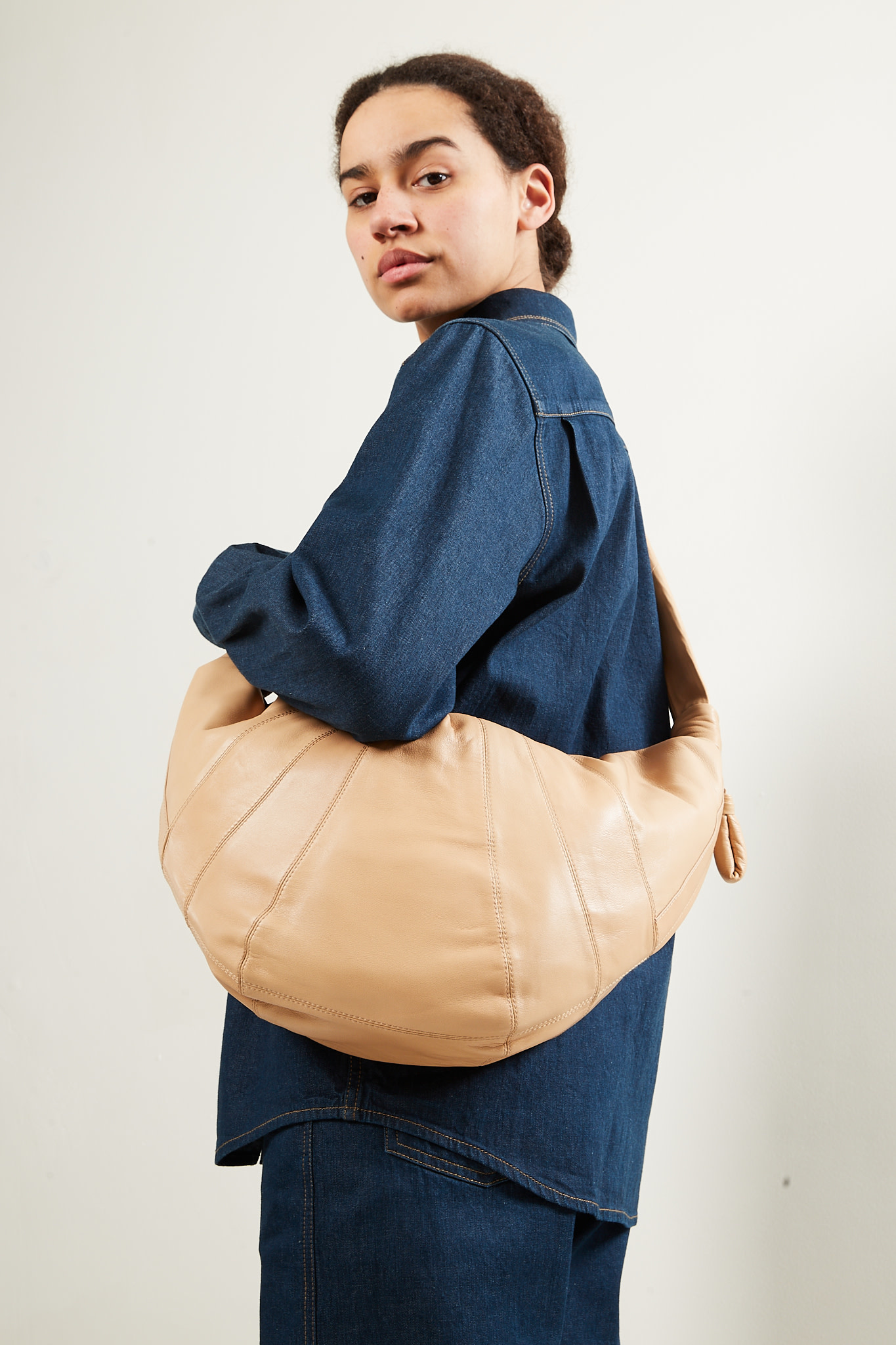 Lemaire - Large croissant bag