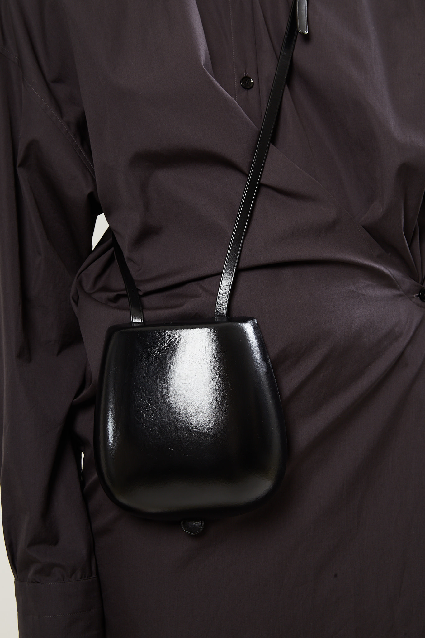 Lemaire - Molded taco bag