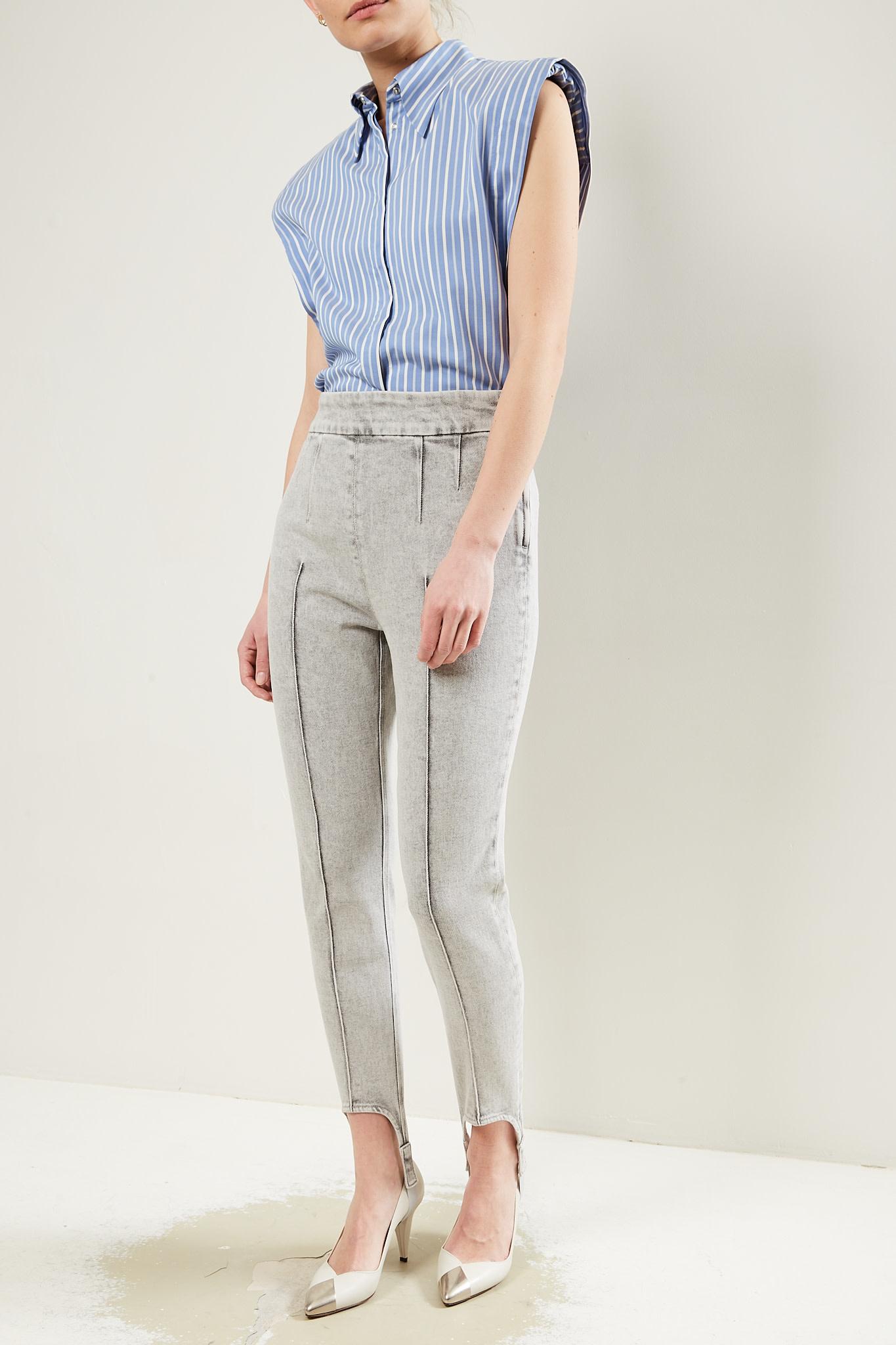 Isabel Marant - Nanouli stretch denim trousers