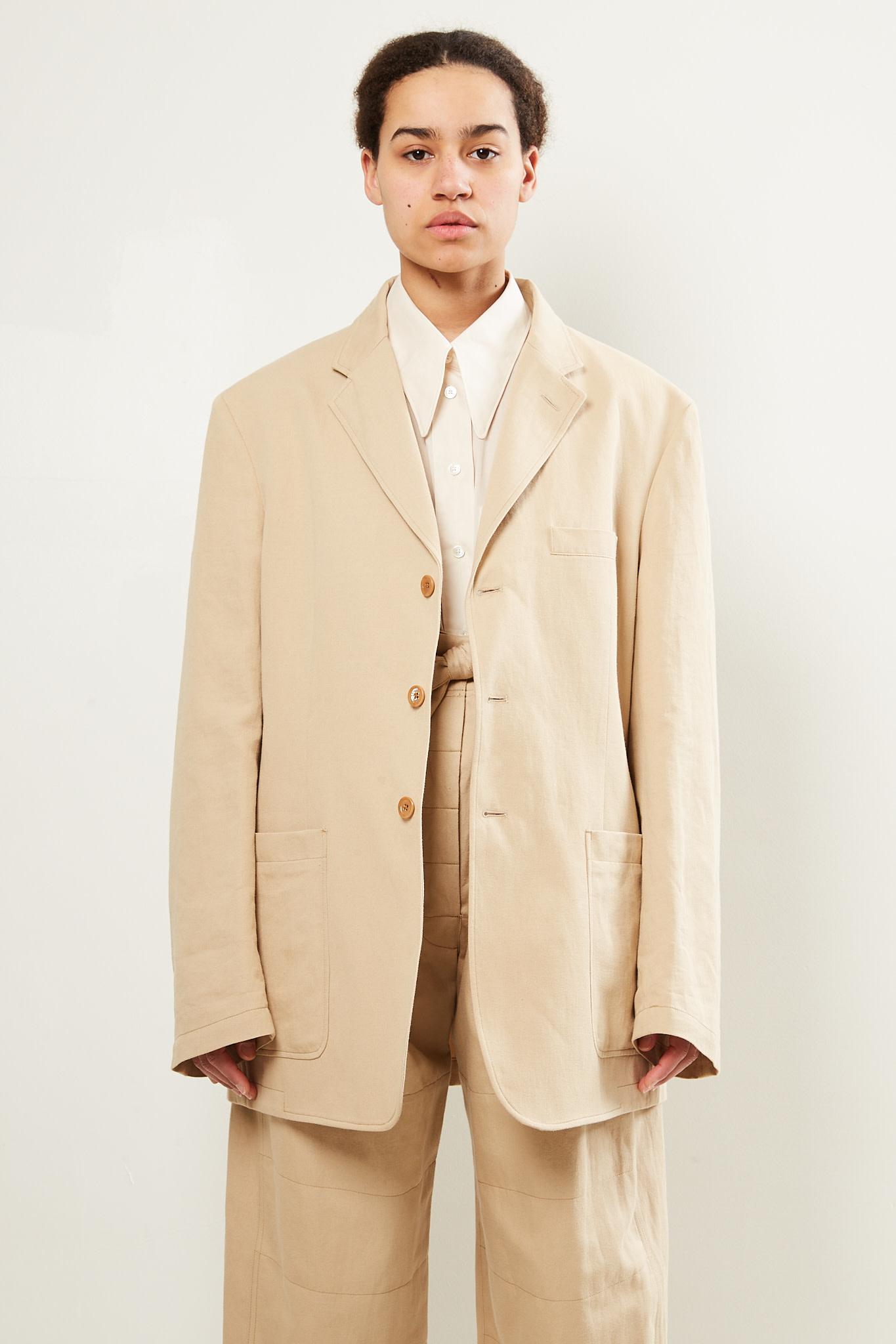 Lemaire - Patch pocket jacket