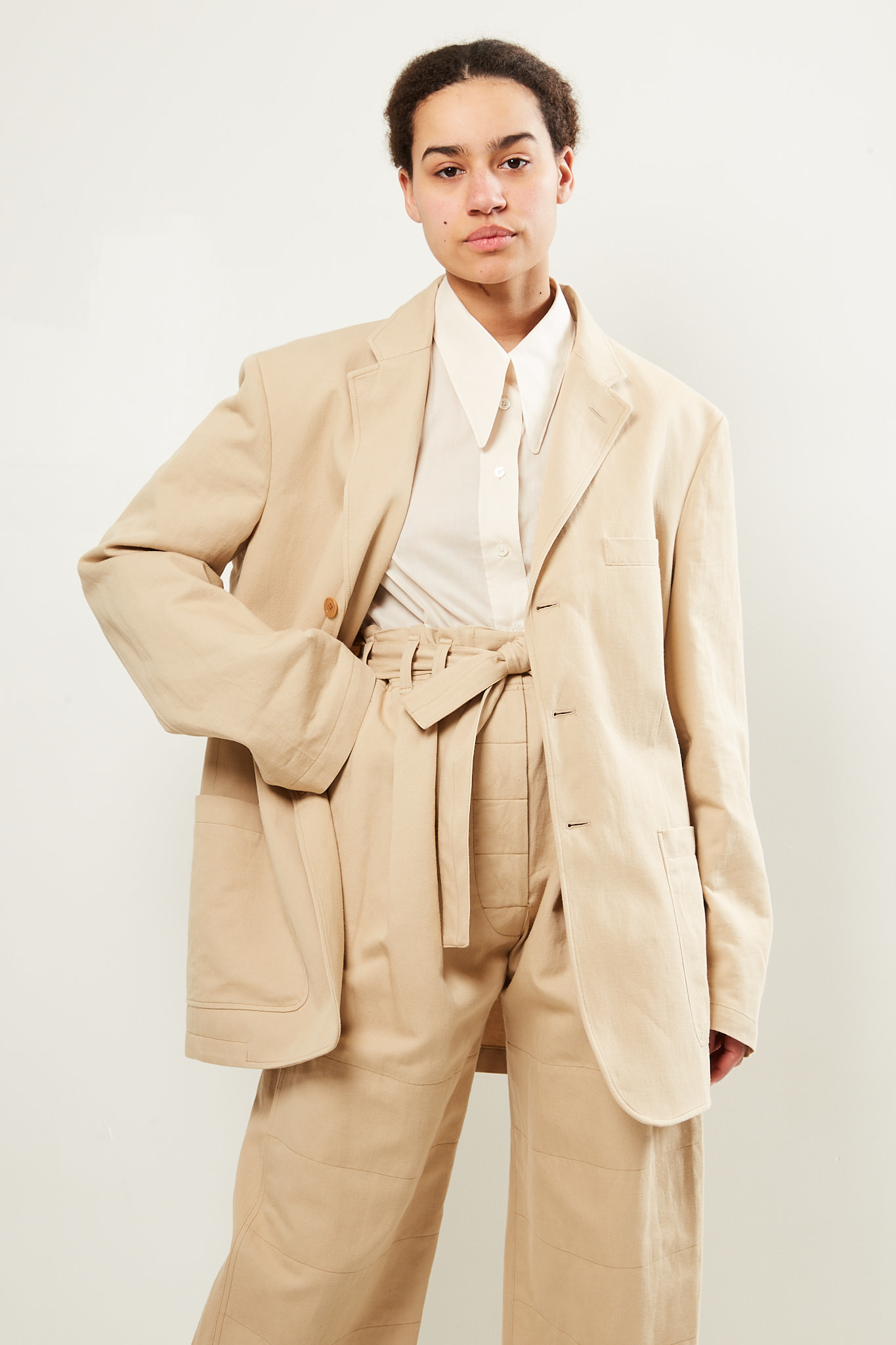 Lemaire Patch pocket jacket
